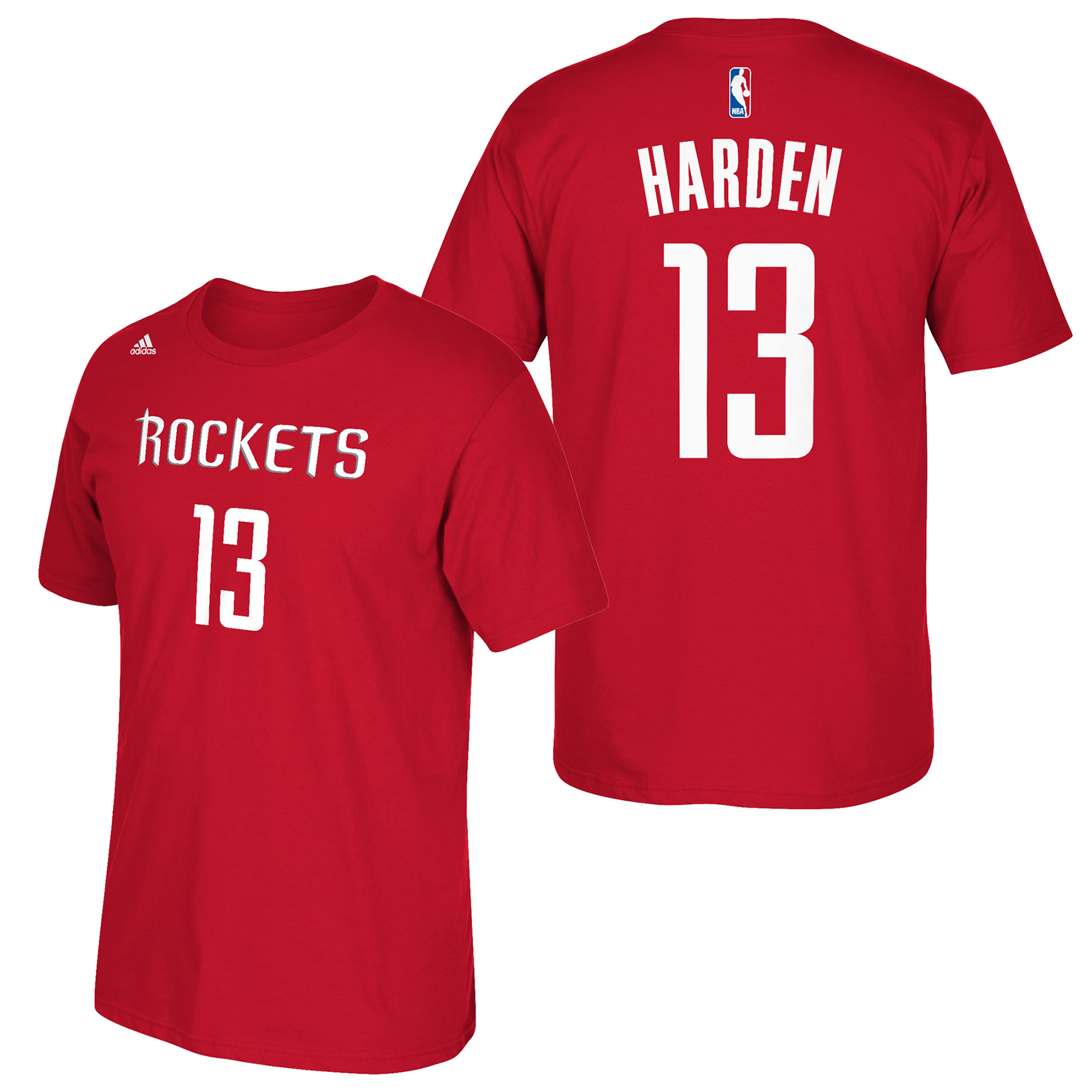 Houston Rockets adidas Name & Number T-Shirt - James Harden