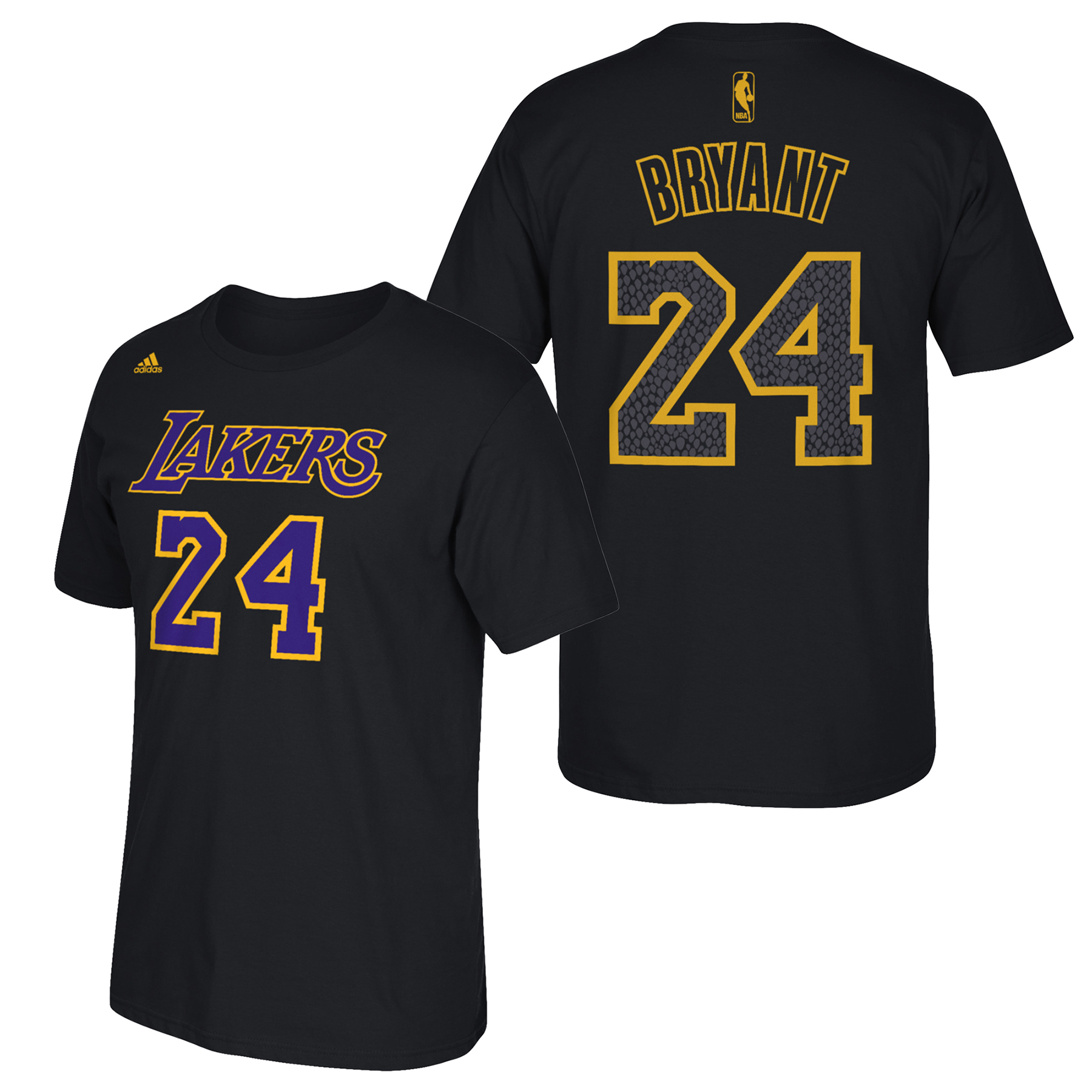 Los Angeles Lakers adidas Name & Number T-Shirt - Kobe Bryant