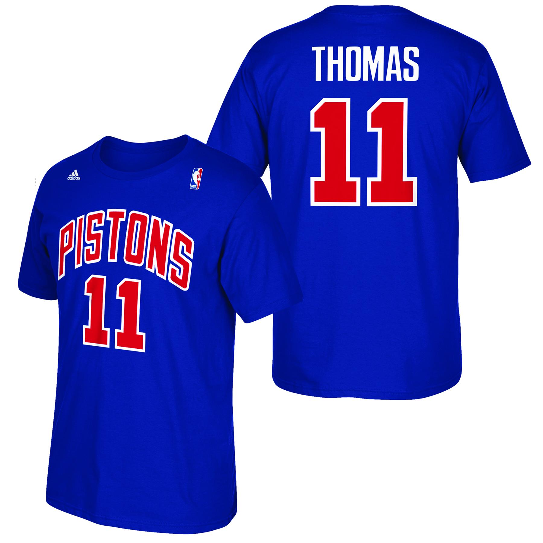 Detroit Pistons adidas Soul Name & Number T-Shirt - Isiah Thomas