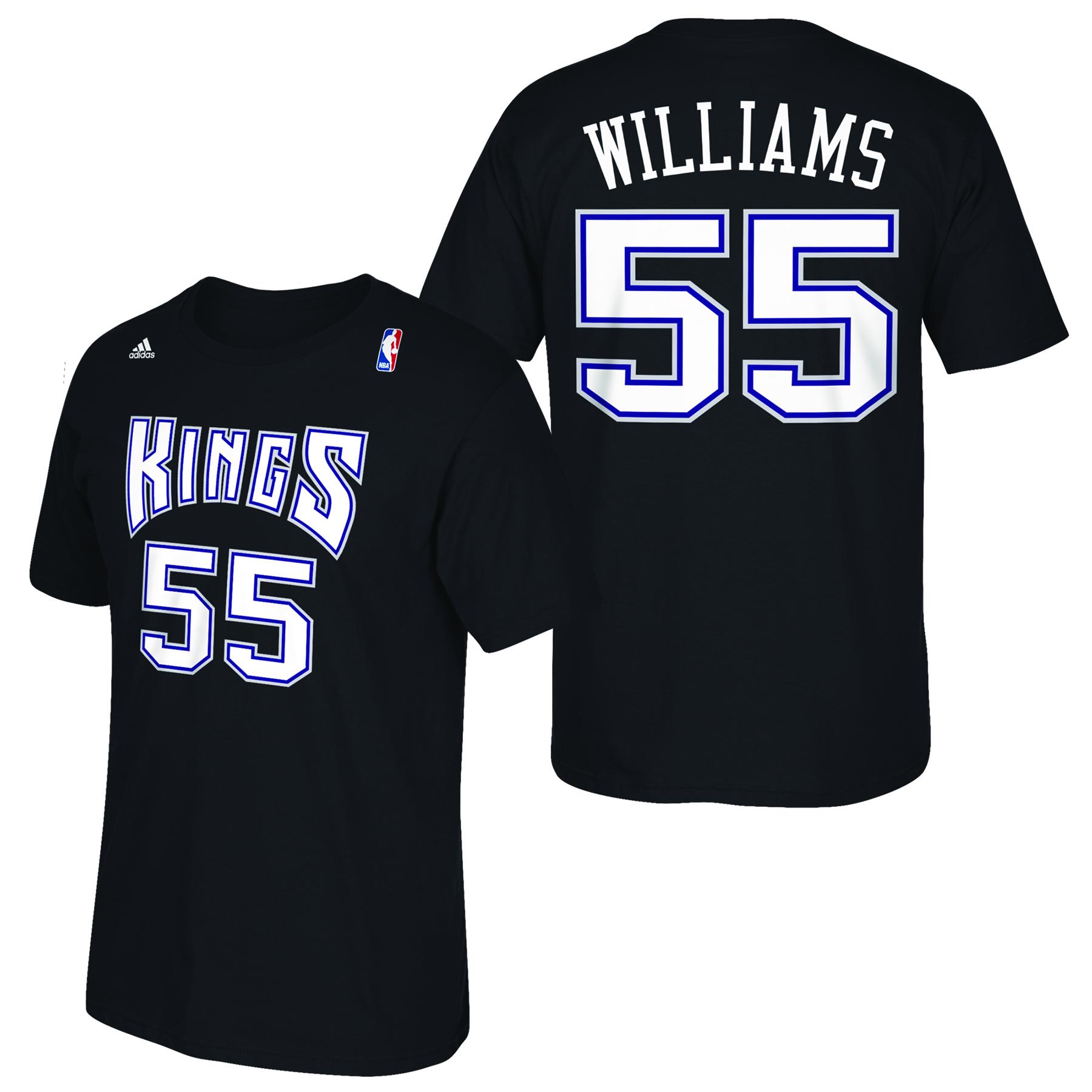 Sacramento Kings adidas Soul Name & Number T-Shirt - Jason Wiliams