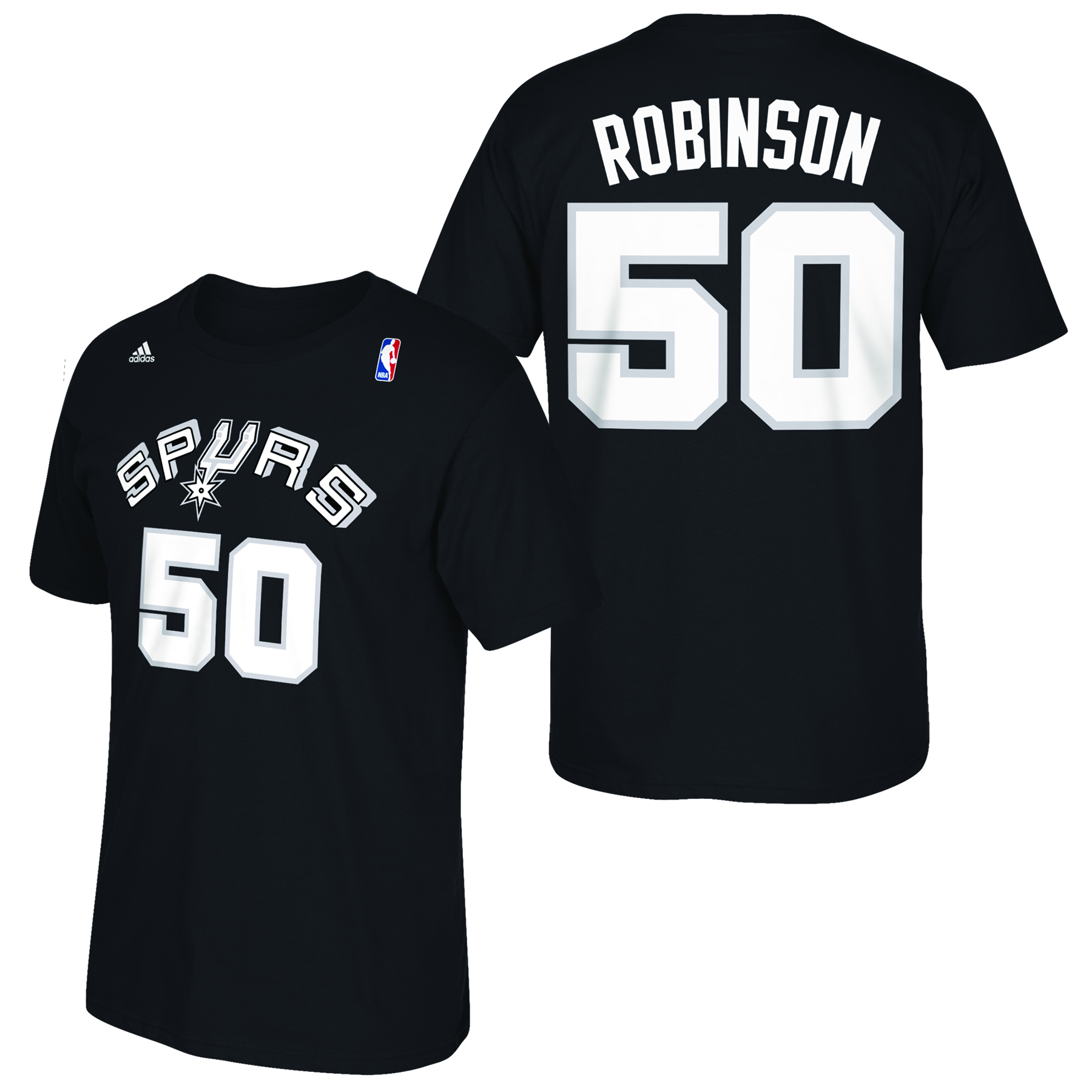 San Antonio Spurs adidas Soul Name & Number T-Shirt - David Robinson