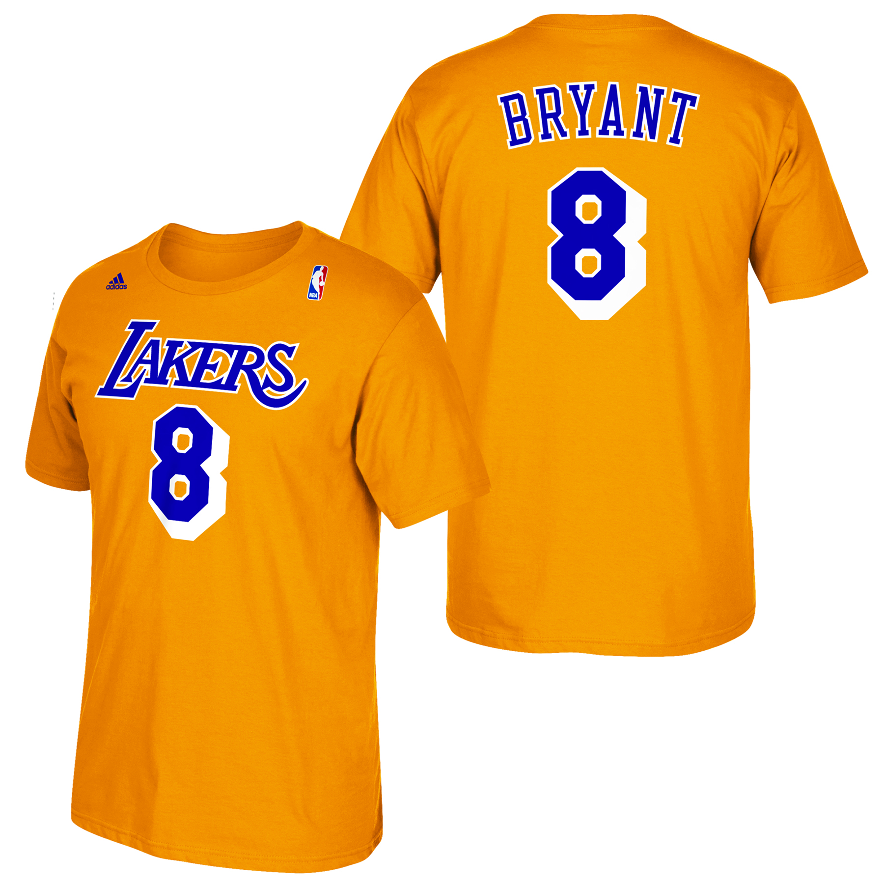 Los Angeles Lakers adidas Soul Name & Number T-Shirt - Kobe Bryant