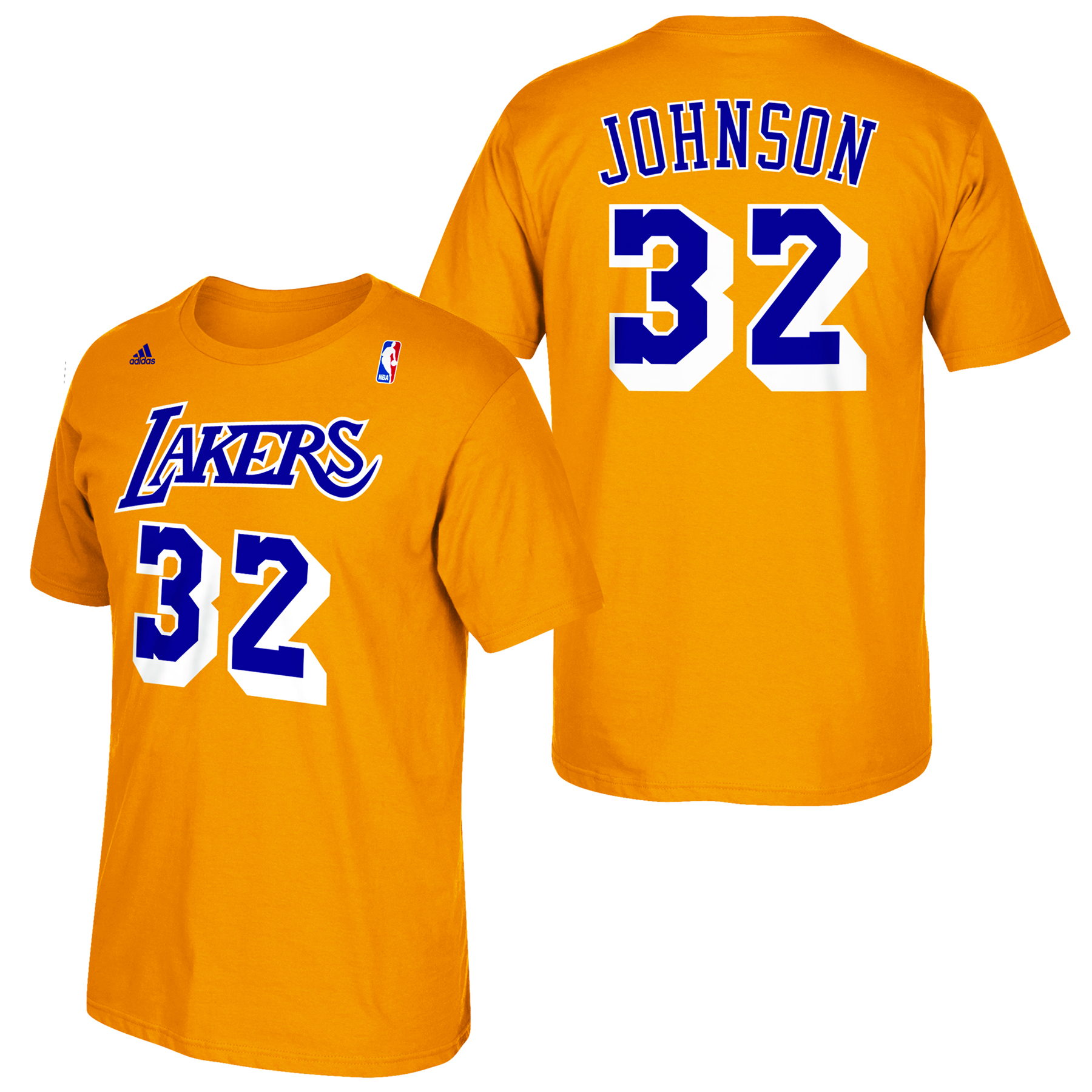 Los Angeles Lakers adidas Soul Name & Number T-Shirt - Magic Johnson
