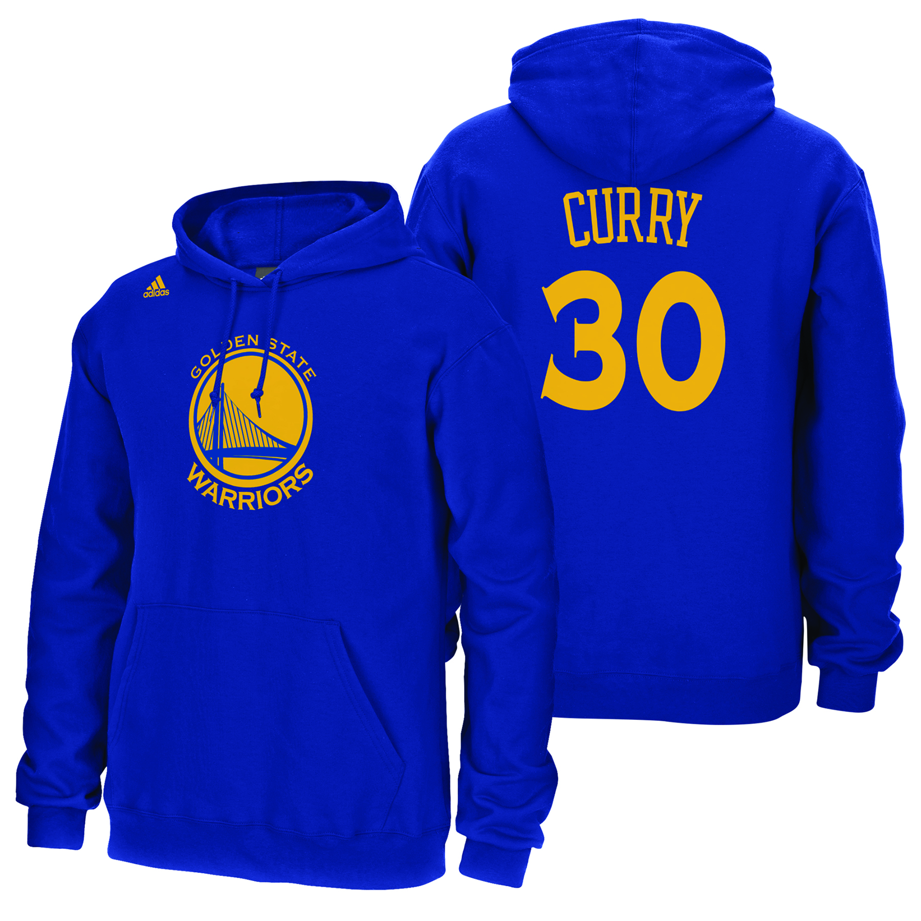 Golden State Warriors adidas Name & Number Hoodie - Stephen Curry