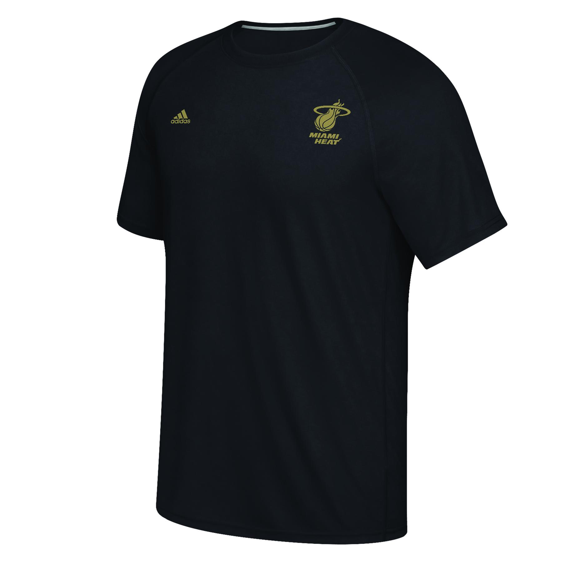 Miami Heat adidas Climalite Ultimate Short Sleeve T-Shirt