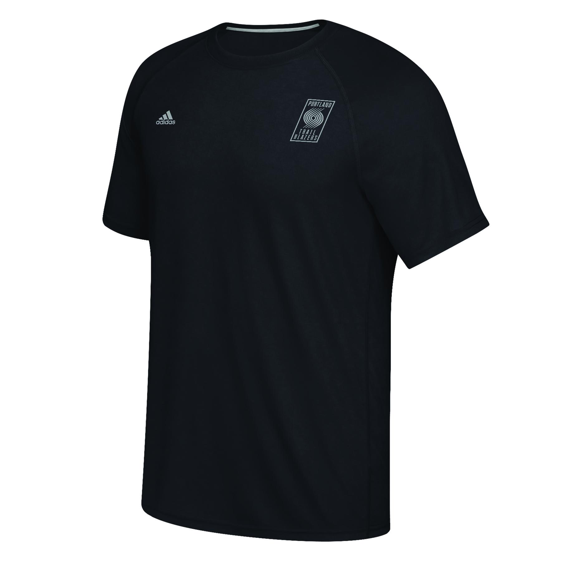 Portland Trail Blazers adidas Climalite Ultimate Short Sleeve T-Shirt