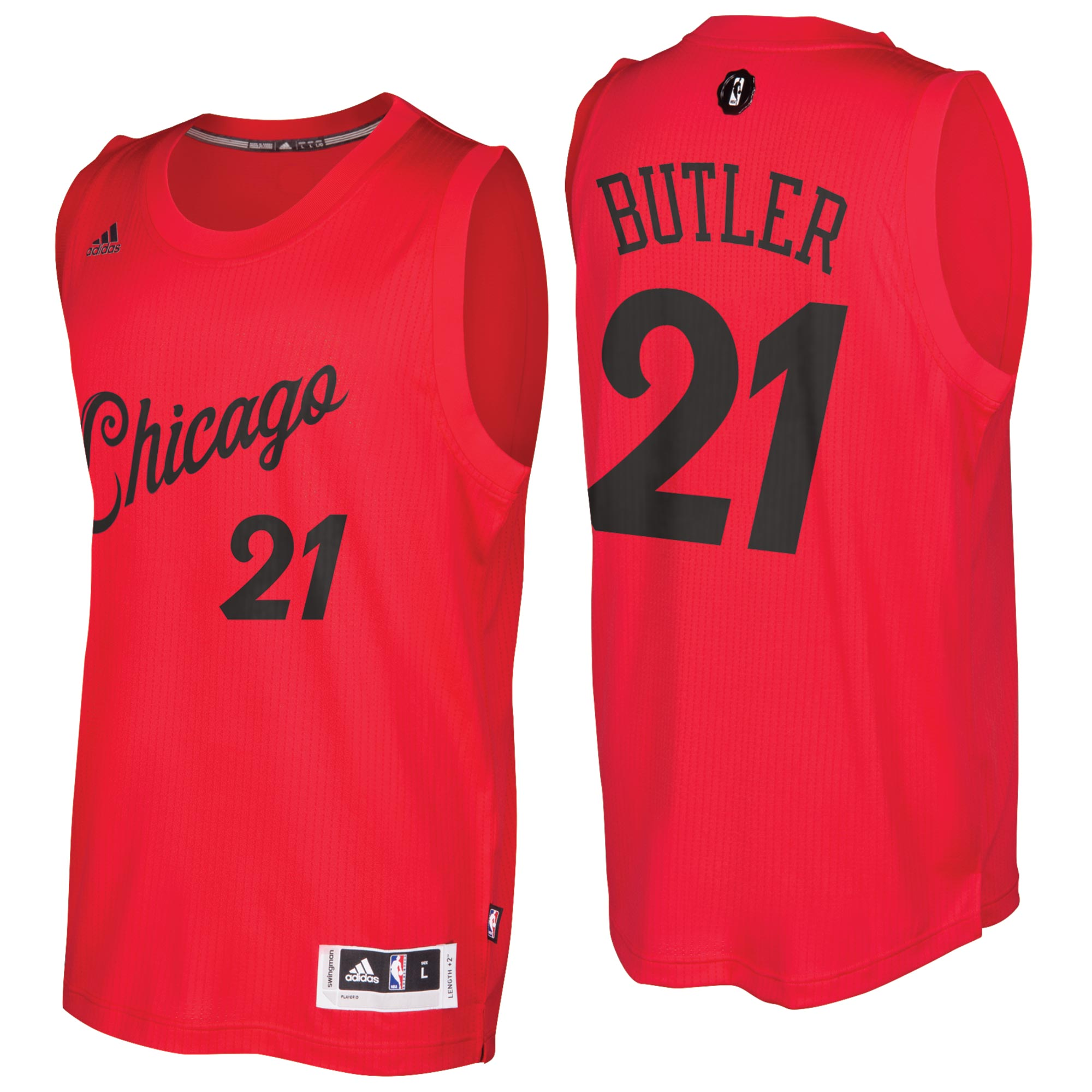 Chicago Bulls X-Mas Day Swingman Jersey 2016 - Jimmy Butler - Youth