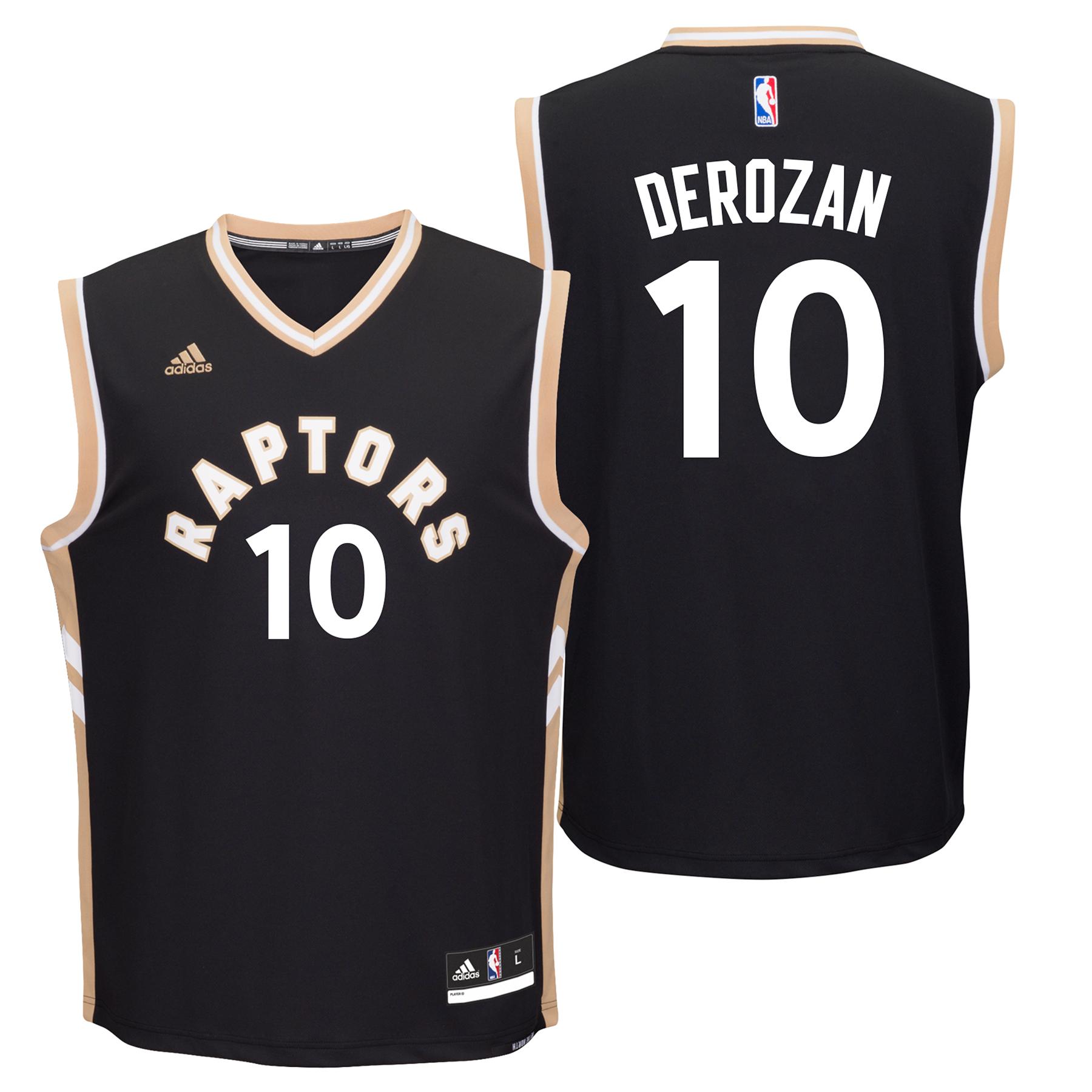 Toronto Raptors Alternate Replica Jersey -  DeMar DeRozan - Mens