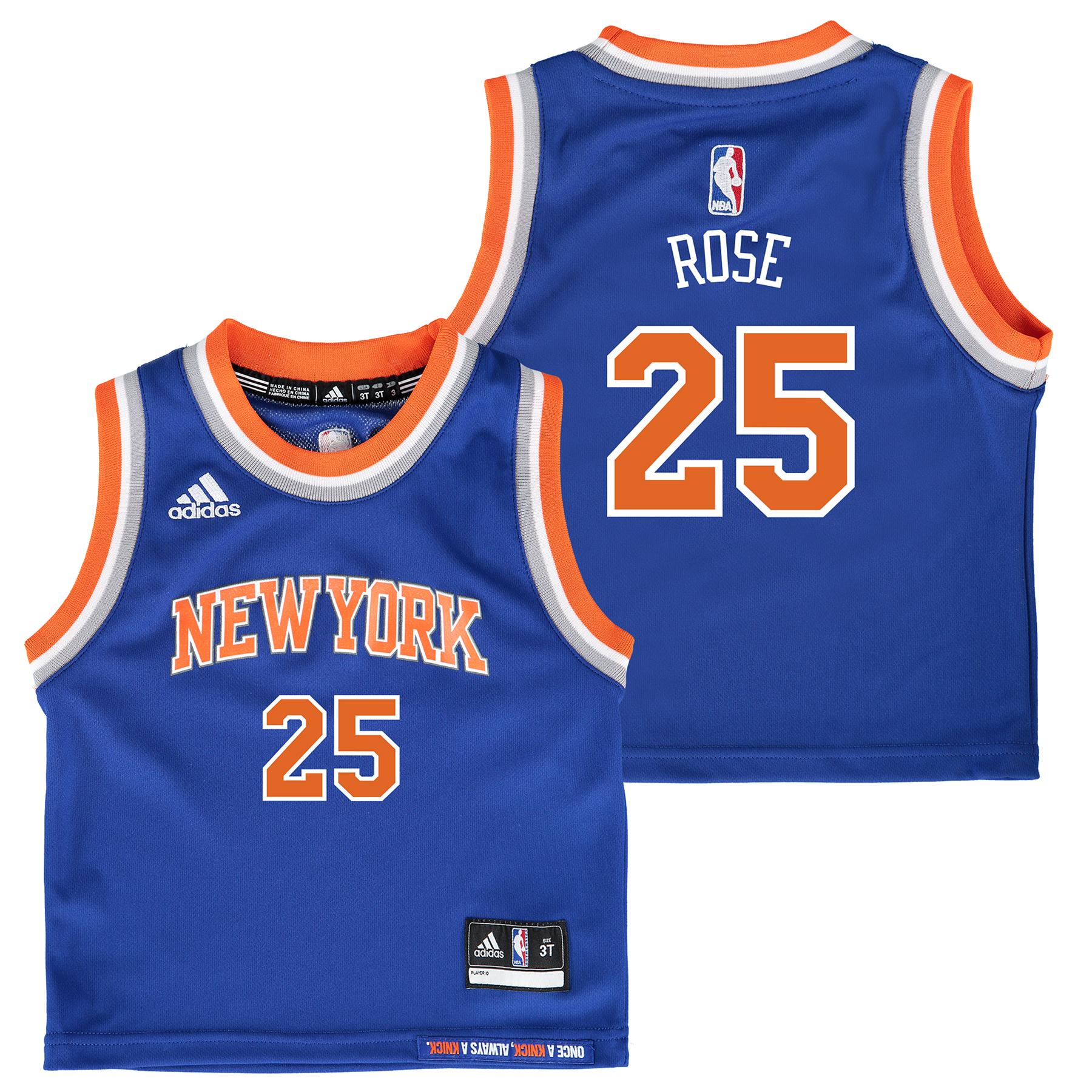 New York Knicks Road Replica Jersey - Derrick Rose - Toddler