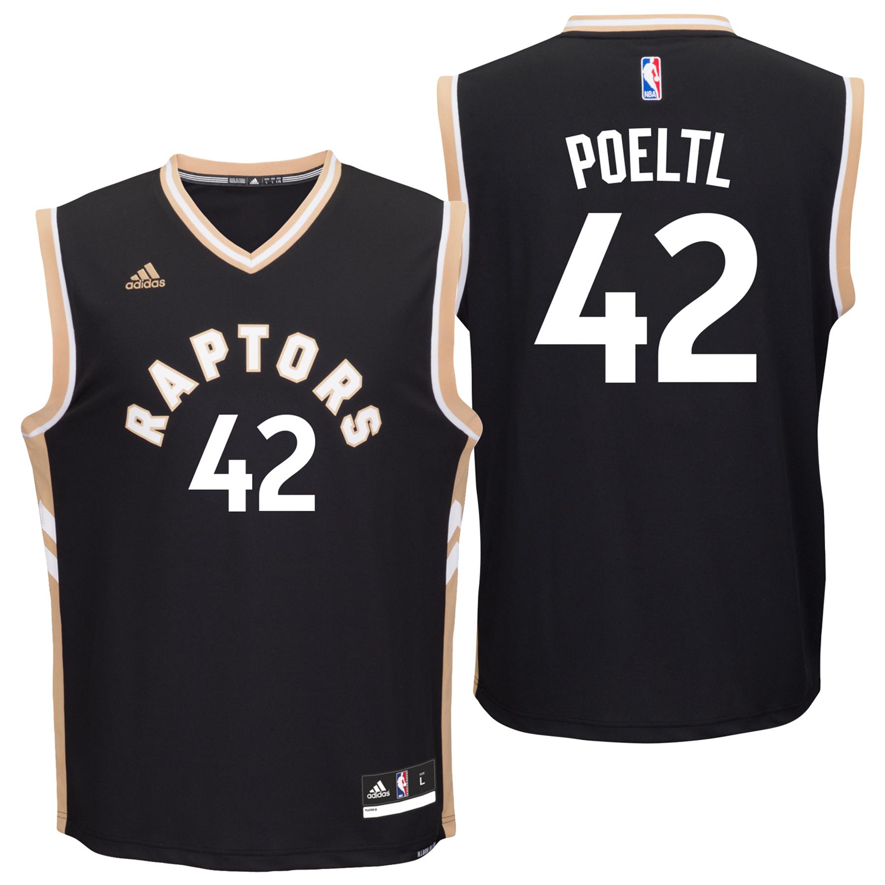 Toronto Raptors Alternate Replica Jersey - Jakob Poeltl - Mens - 1st R