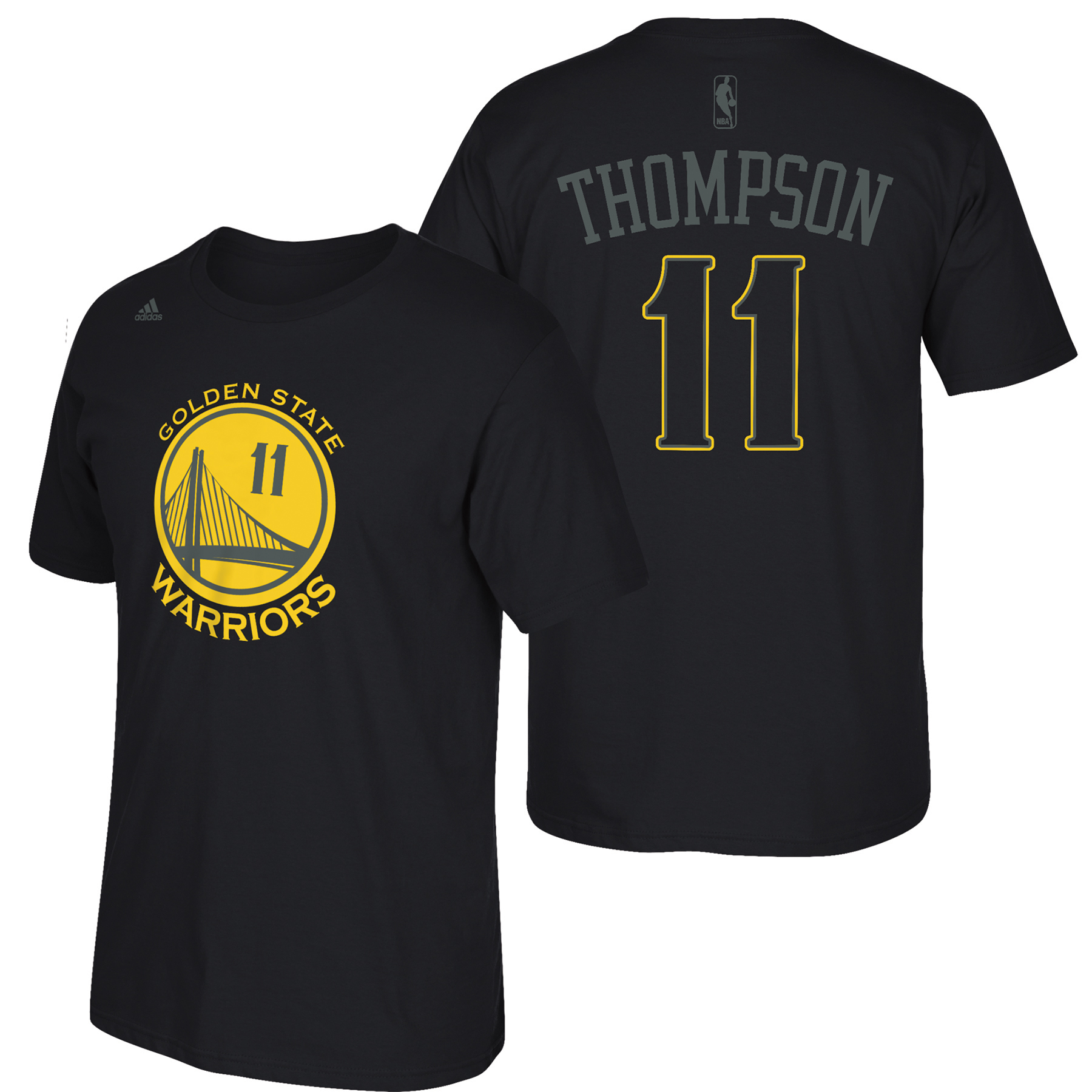 Golden State Warriors adidas Hyper Name & Number T-Shirt - Klay Thomps