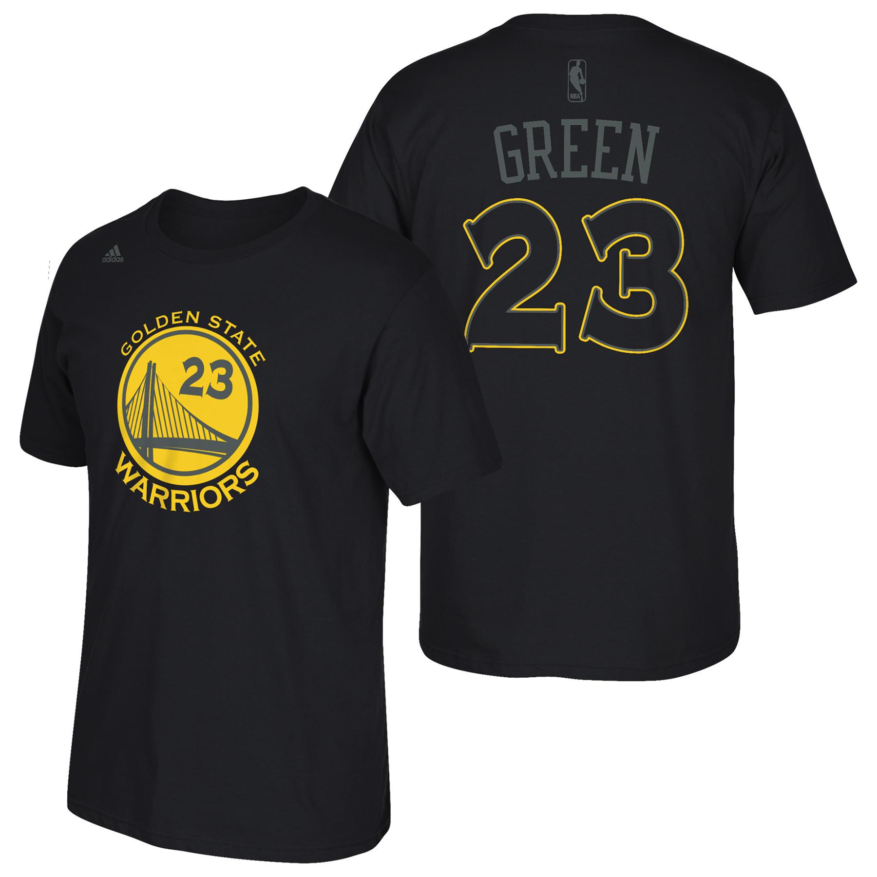 Golden State Warriors adidas Hyper Name & Number T-Shirt - Draymond Gr