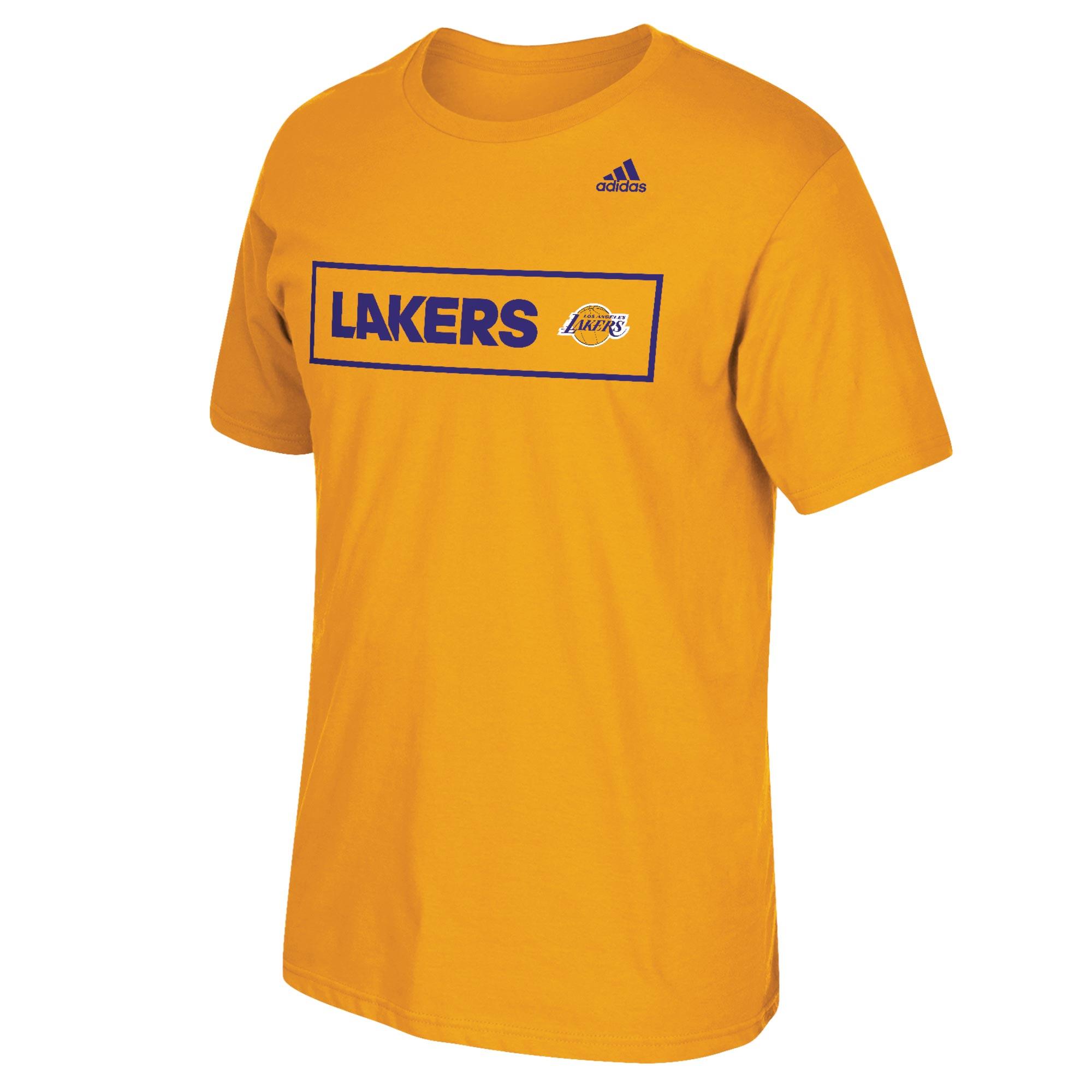 Los Angeles Lakers adidas Scoreboard T-Shirt - Mens