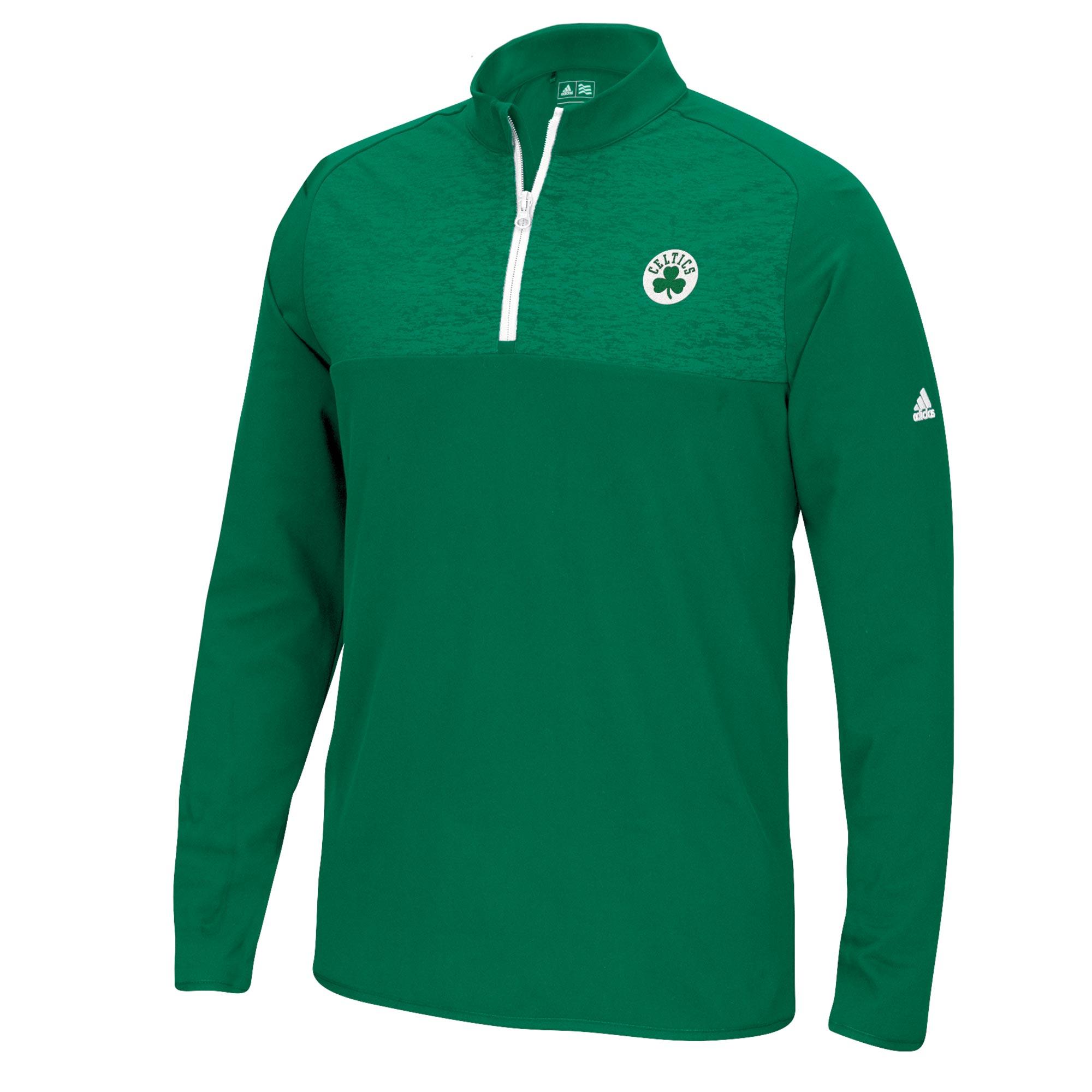 Boston Celtics adidas Climawarm 1/4 Jacket - Mens