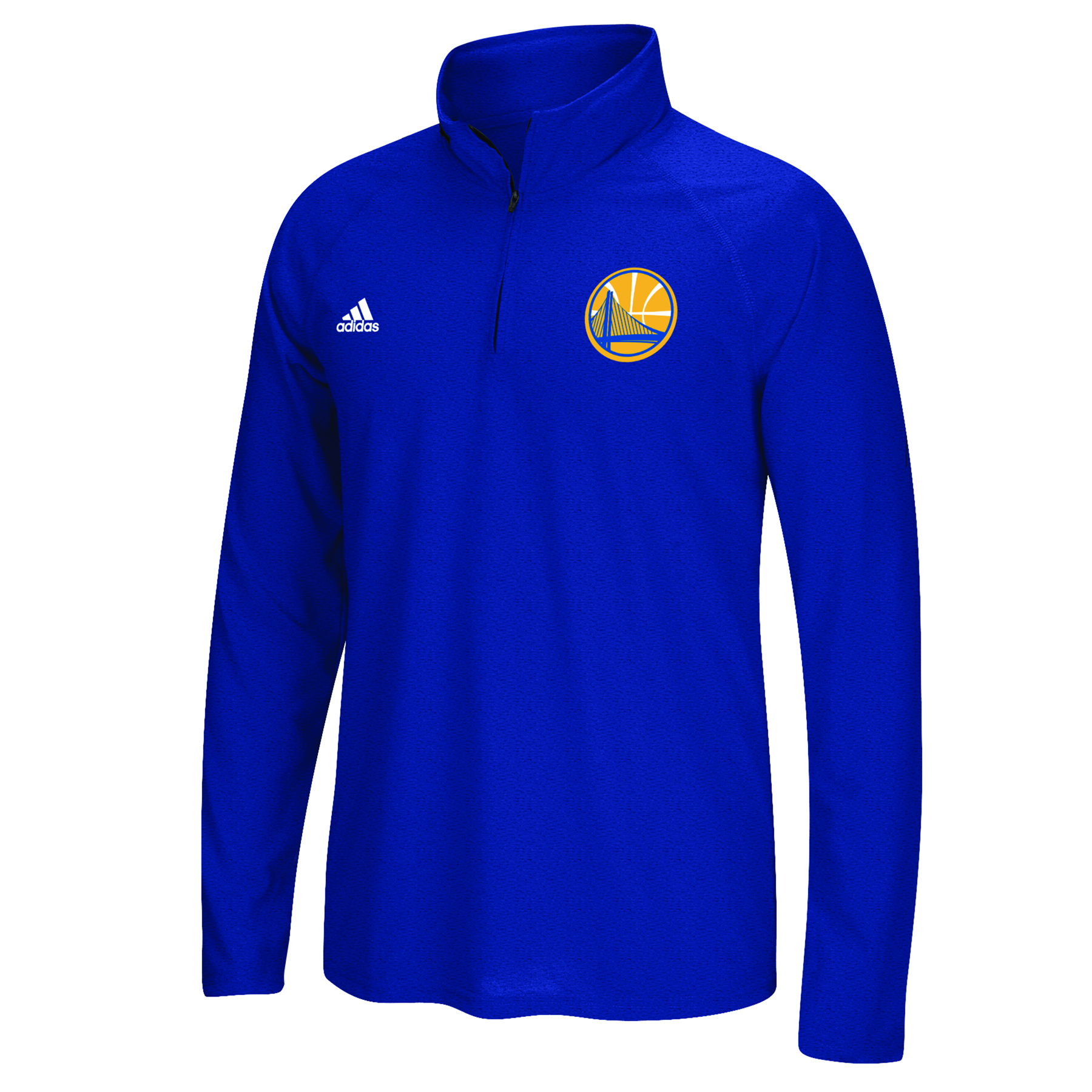 Golden State Warriors adidas Climalite 1/4 Zip Top - Mens