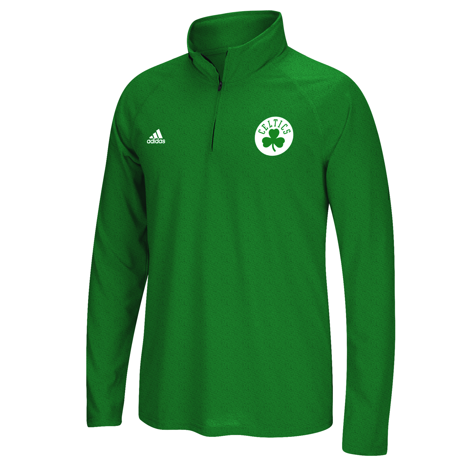 Boston Celtics adidas Climalite 1/4 Zip Top - Mens