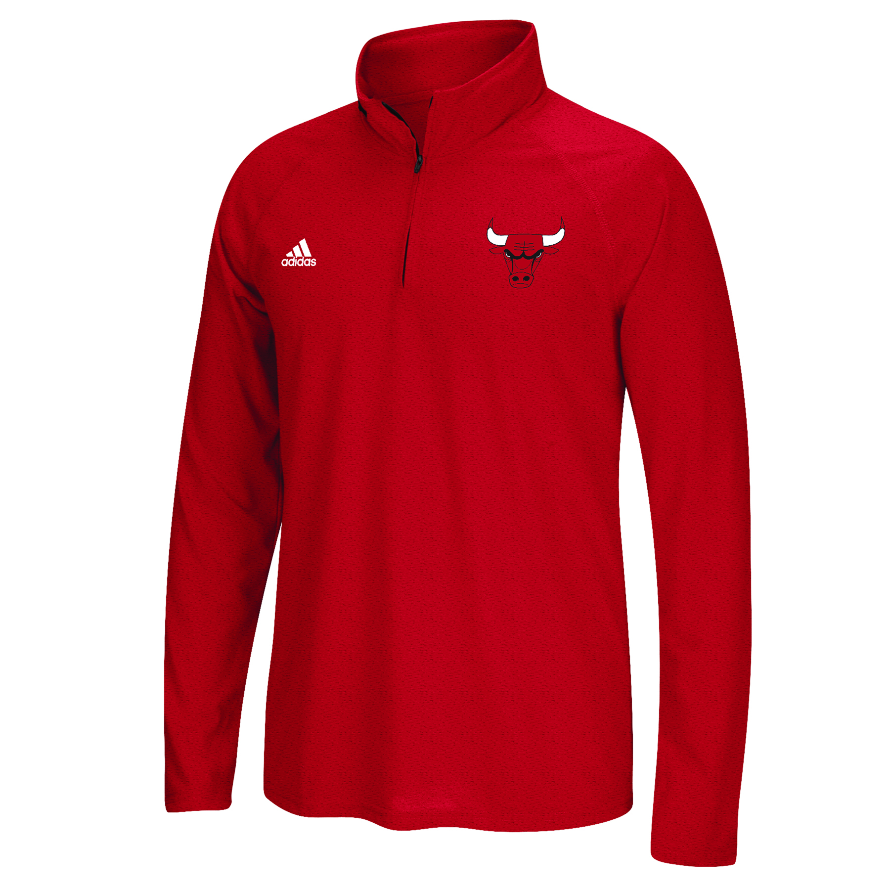 Chicago Bulls adidas Climalite 1/4 Zip Top - Mens