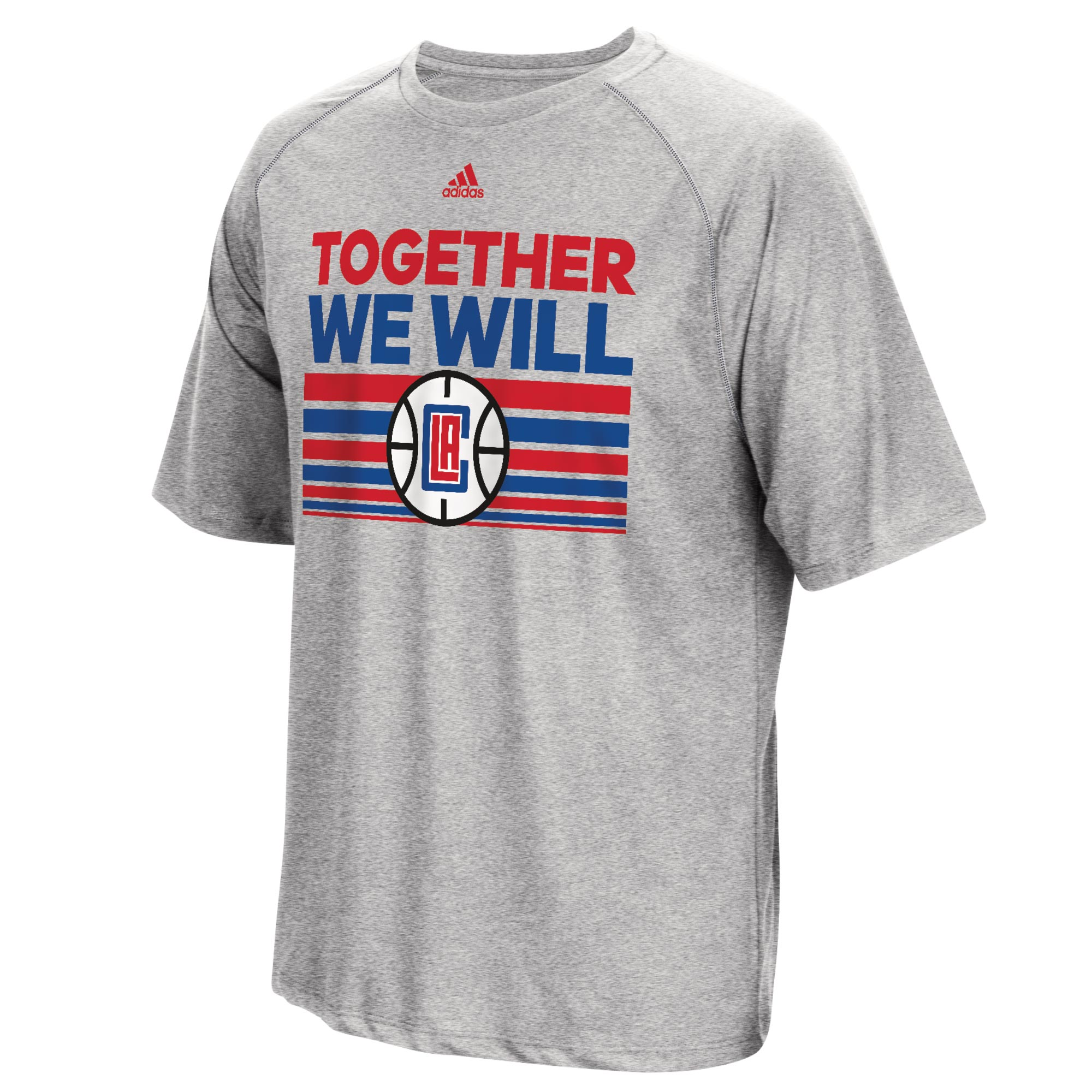 LA Clippers adidas Born One Climalite T-Shirt - Mens