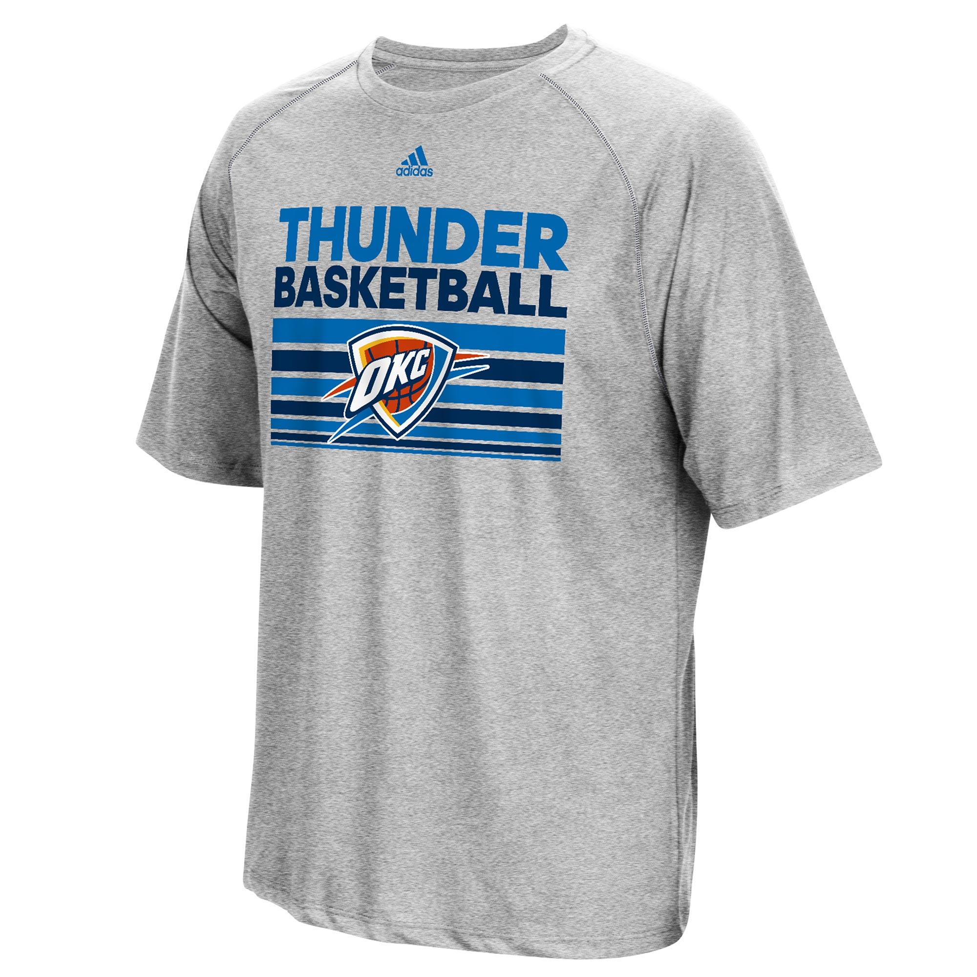 Oklahoma City Thunder adidas Born One Climalite T-Shirt - Mens