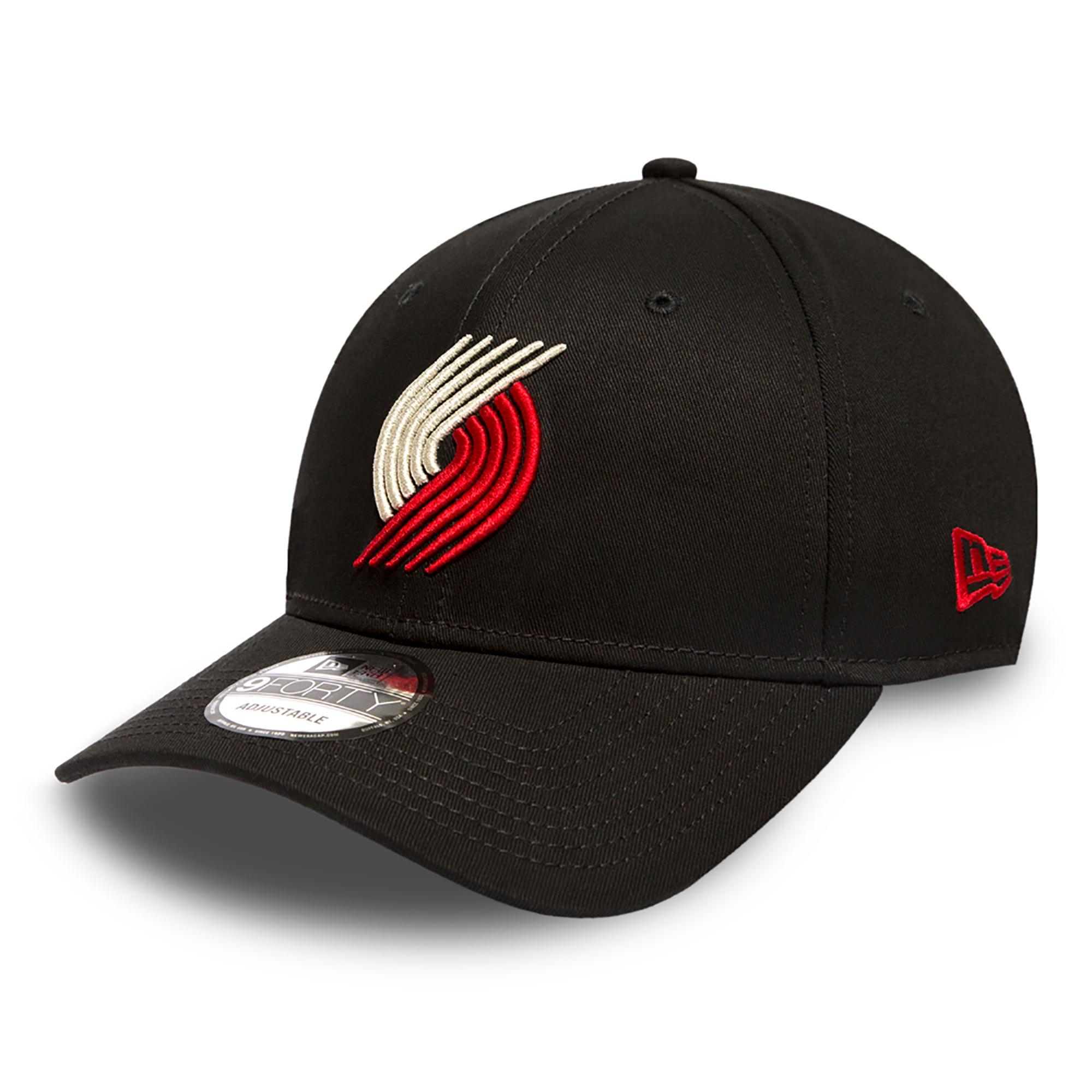 Portland Trail Blazers New Era Basic 9FORTY Adujstable Cap