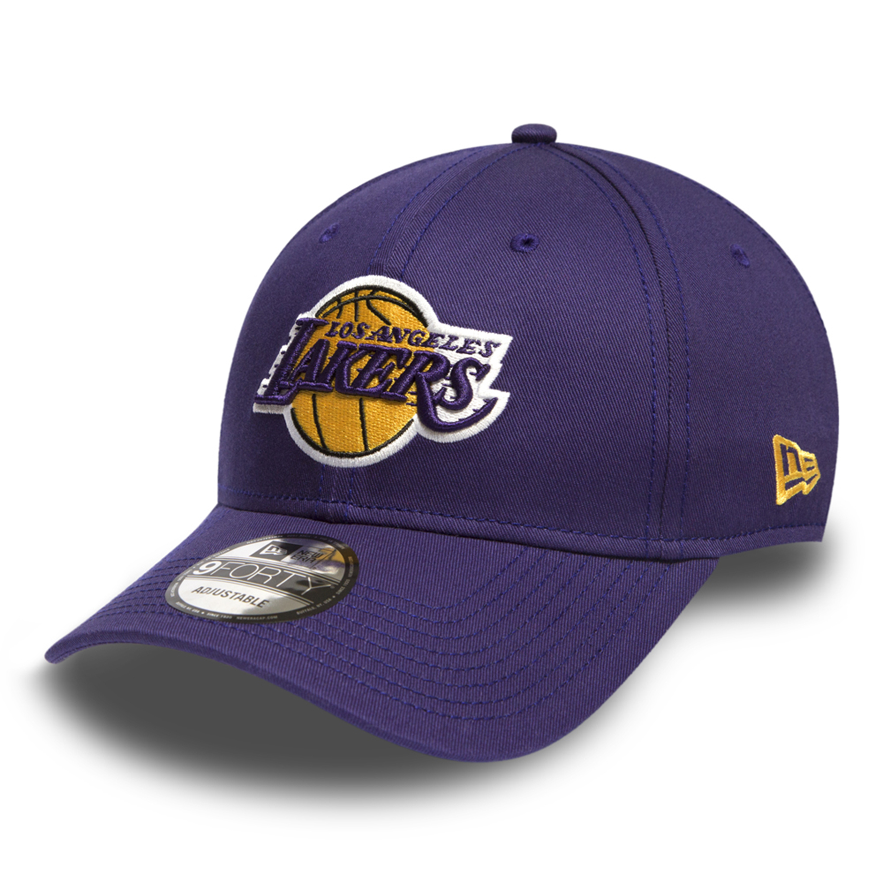 Los Angeles Lakers New Era Basic 9FORTY Adujstable Cap