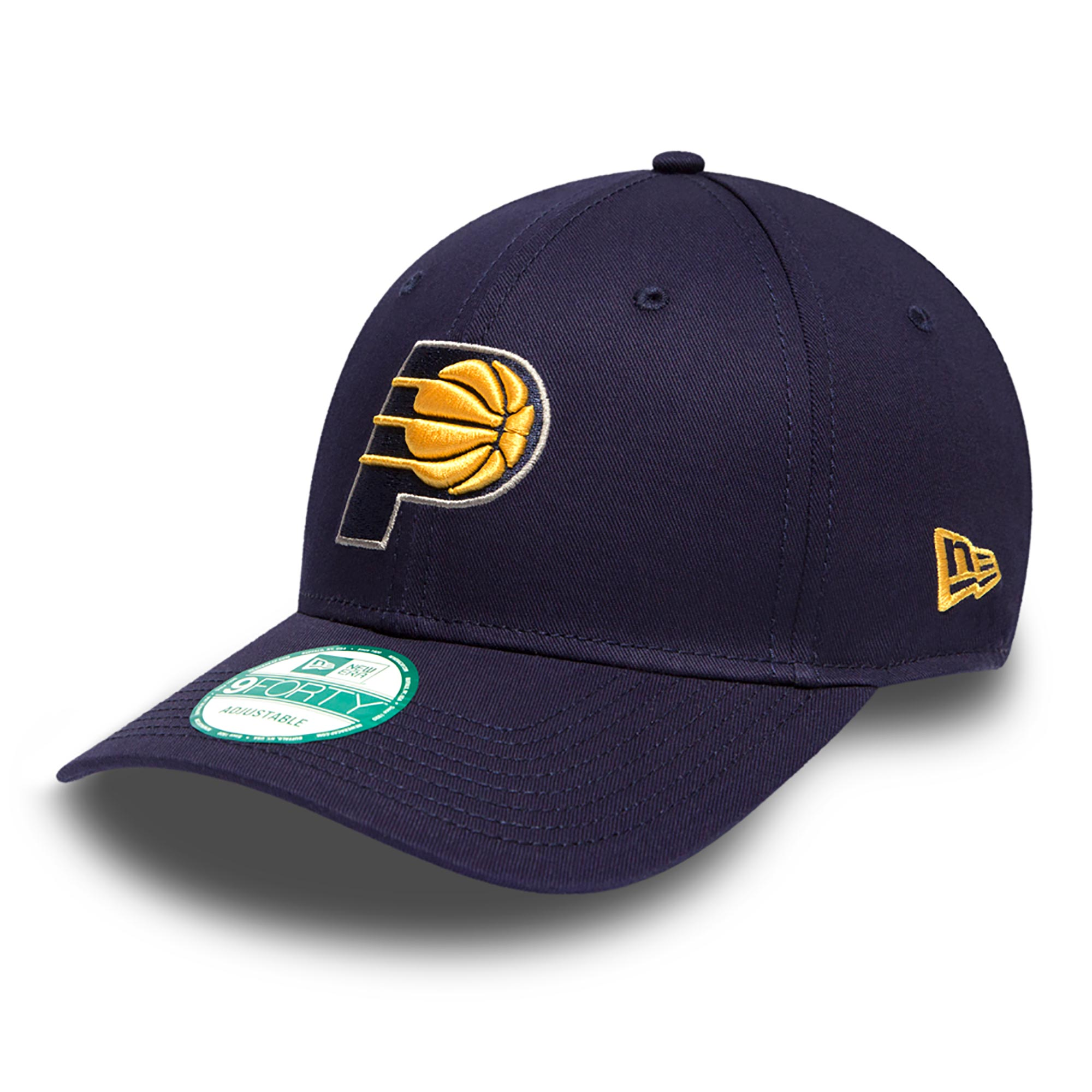 Indiana Pacers New Era Basic 9FORTY Adujstable Cap
