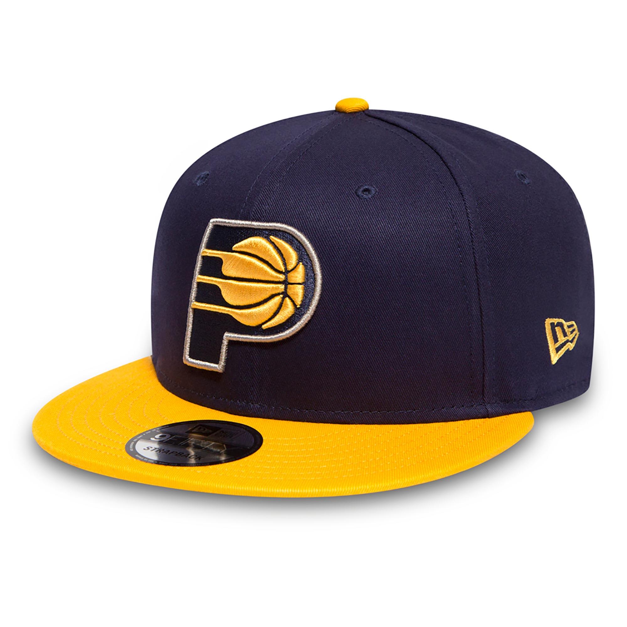 Indiana Pacers New Era Basic 9FIFTY Snapback Cap