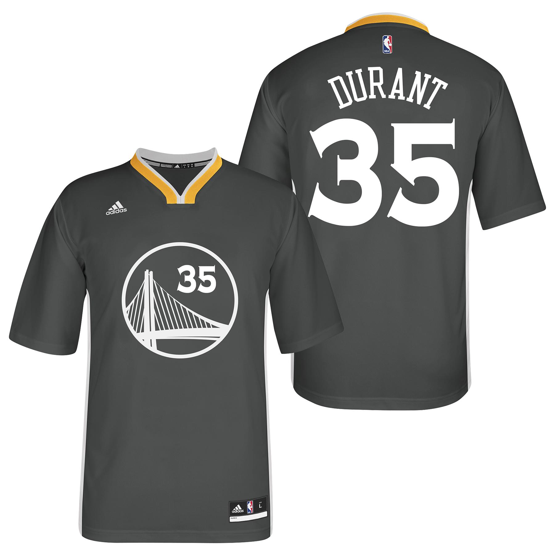 Golden State Warriors Alternate Replica Jersey - Kevin Durant - Mens
