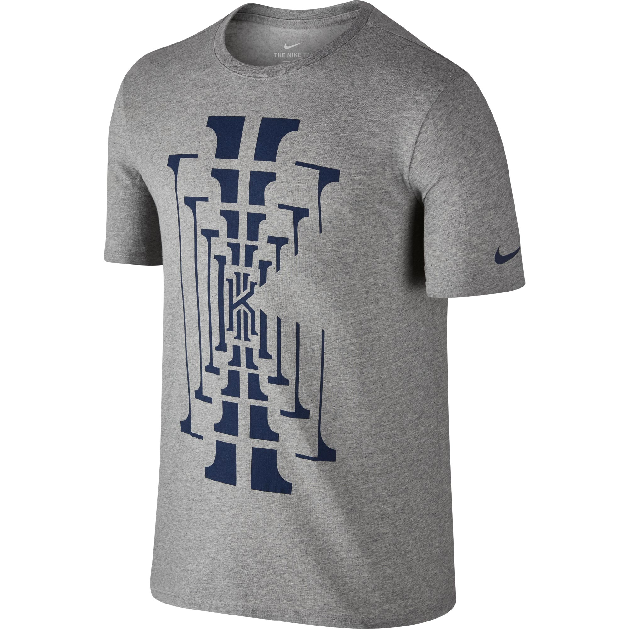 Nike Kyrie BM1 T-Shirt - Dark Grey Heather - Mens
