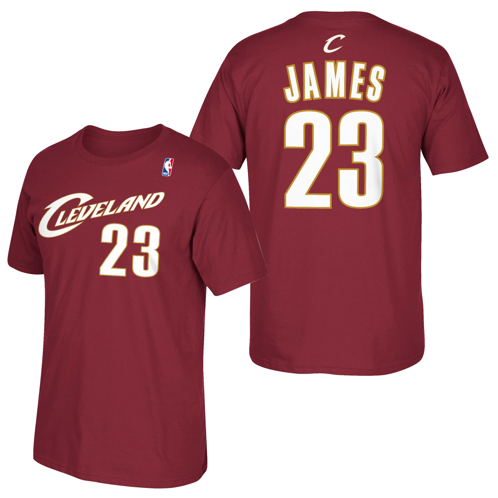 Cleveland Cavaliers adidas Soul Name & Number T-Shirt - LeBron James -