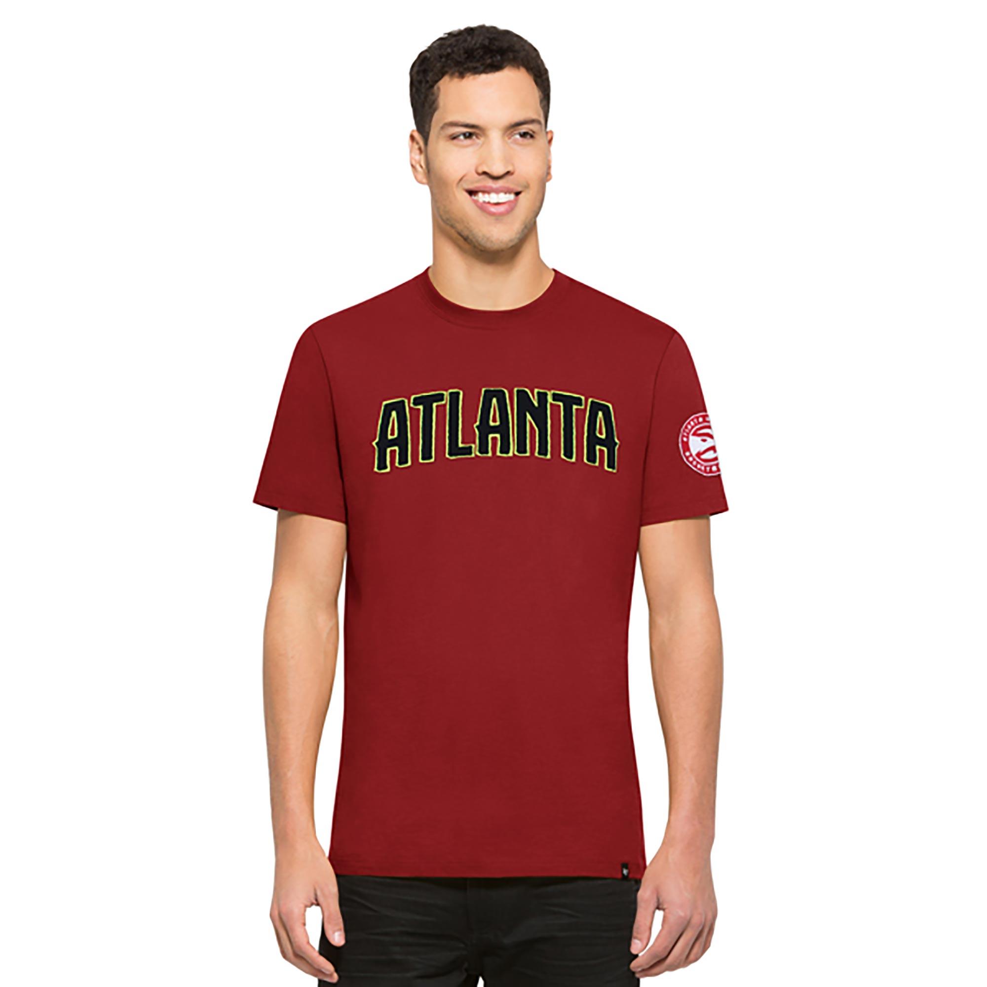 "Image of ""Atlanta Hawks 47 Core Fieldhouse T-Shirt - Mens"""