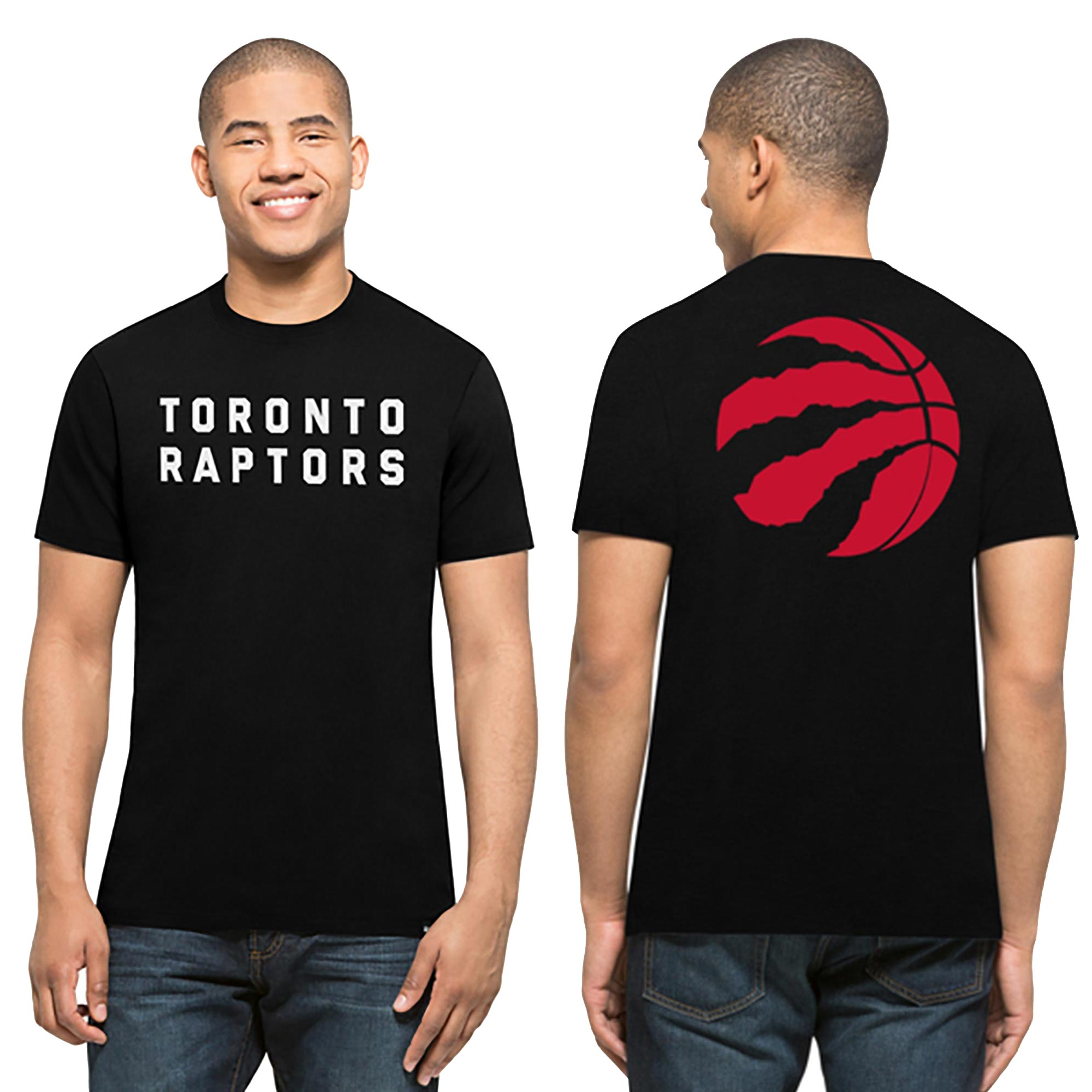 Toronto Raptors 47 Core Splitter T-Shirt - Mens