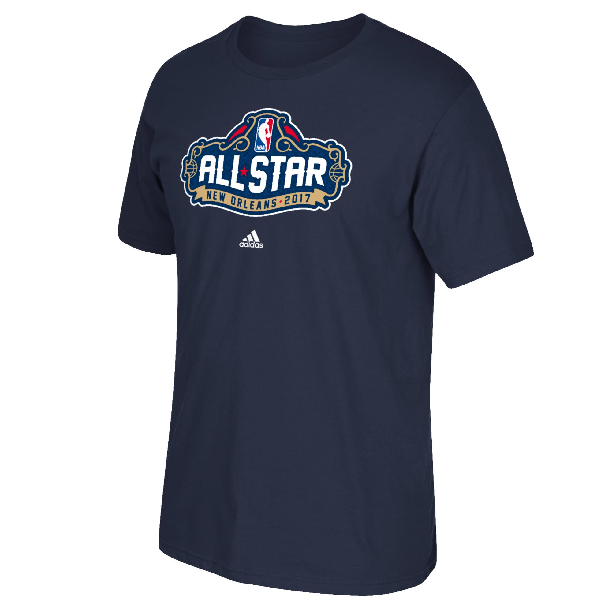 NBA All-Star 2017 Primary Logo T-Shirt - Navy - Mens