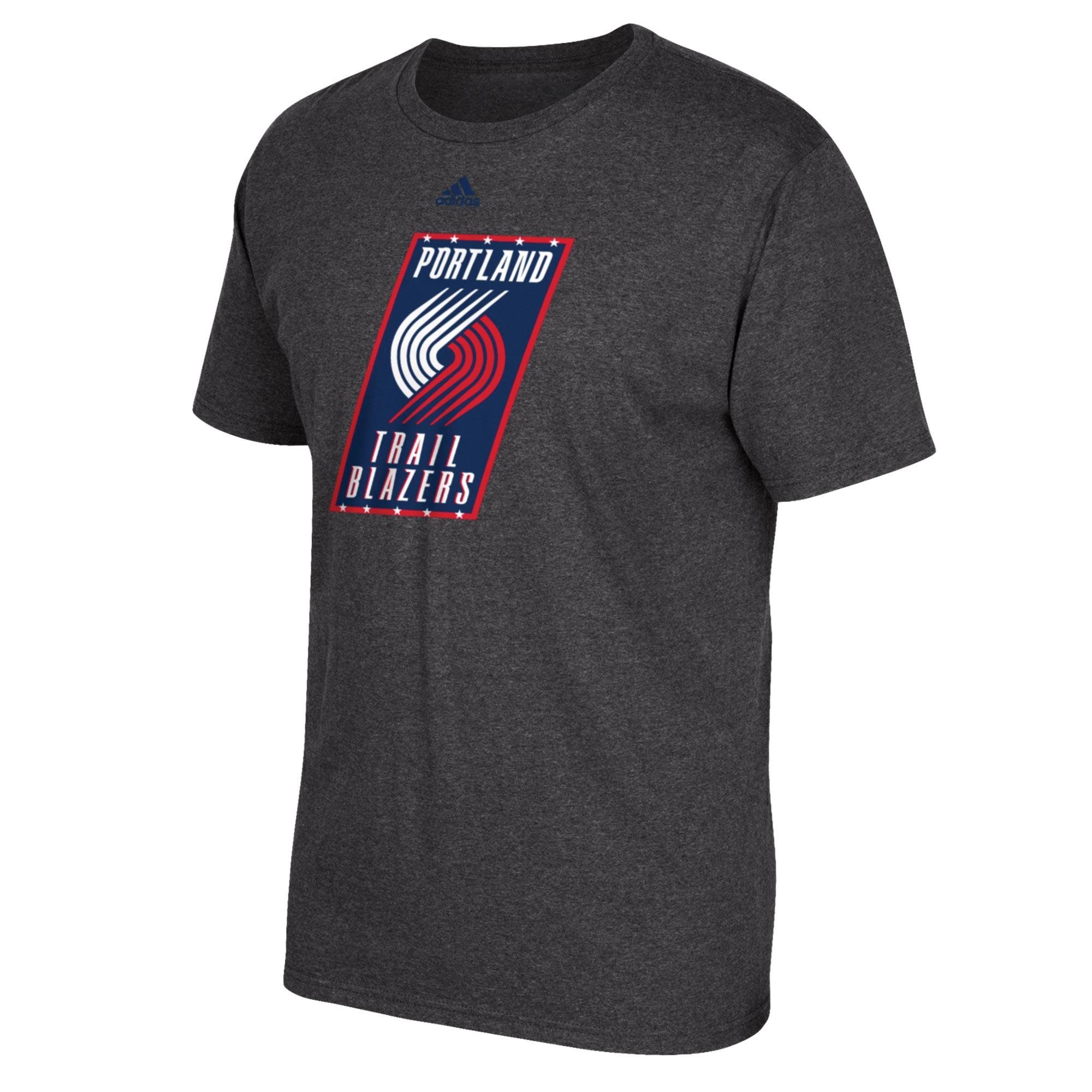 Portland Trail Blazers adidas Stars & Stripes T-Shirt - Mens