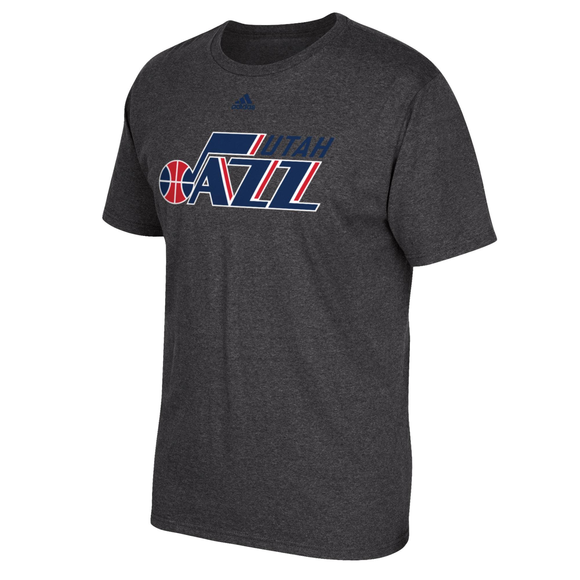 Utah Jazz adidas Stars & Stripes T-Shirt - Mens