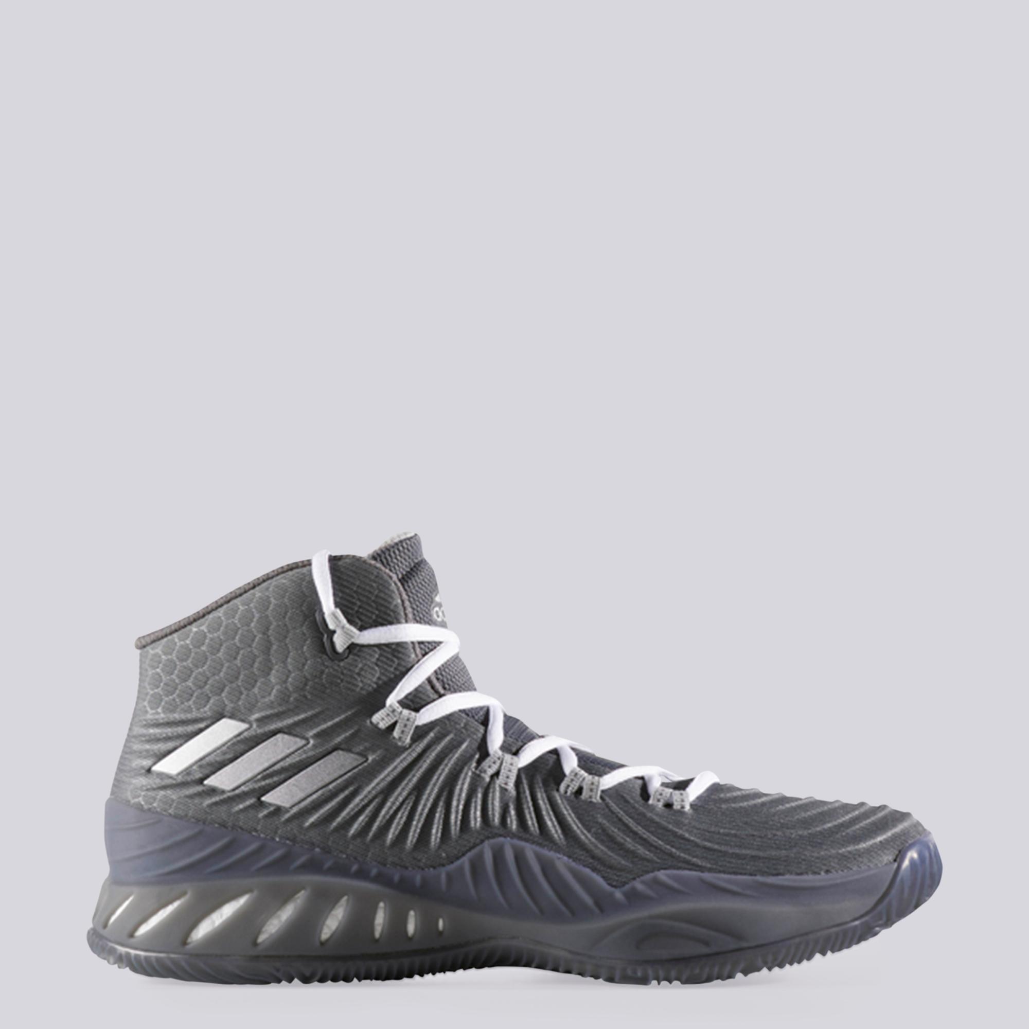 "Image of ""adidas Crazy Explosive 2017 Basketball Shoe - Core Grey - Mens"""