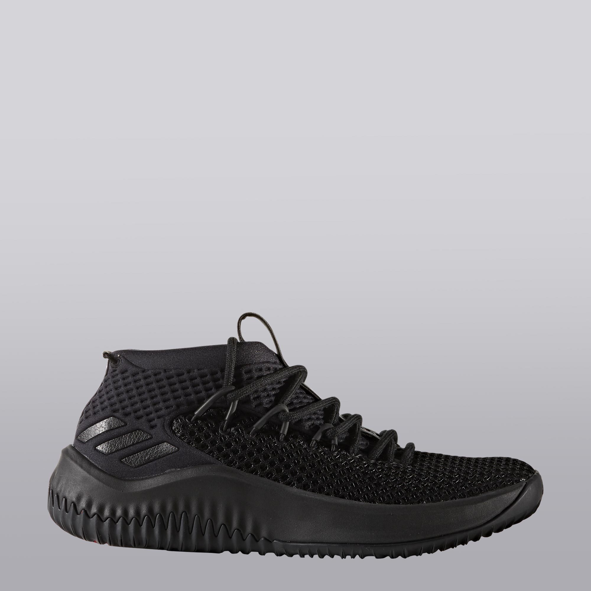 "Image of ""adidas Lillard 3 Basketball Shoe - Home - Youth"""