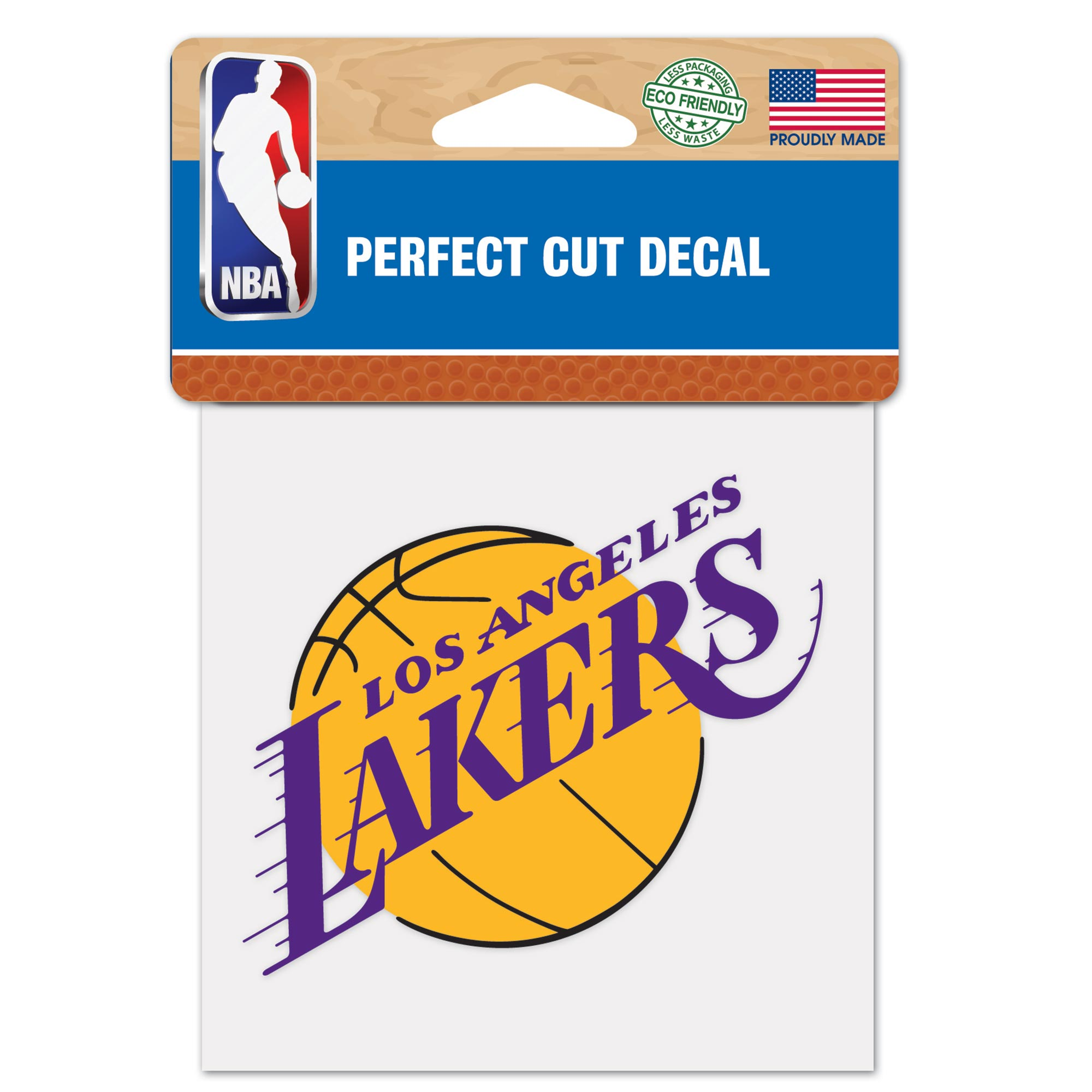 Los Angeles Lakers 4x4 Perfect Cut Decal