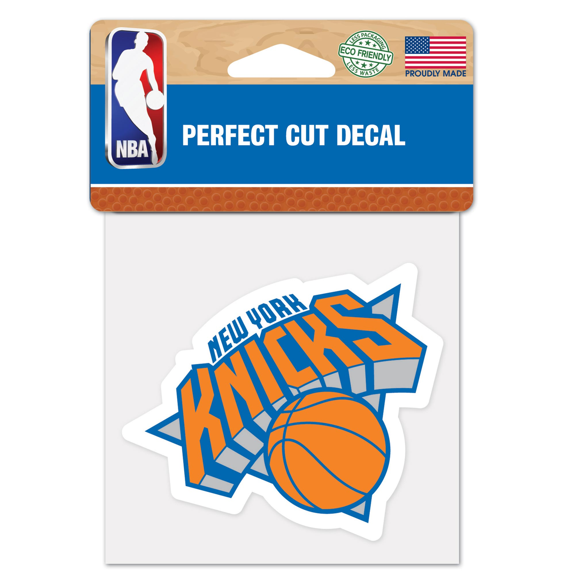 New York Knicks 4x4 Perfect Cut Decal