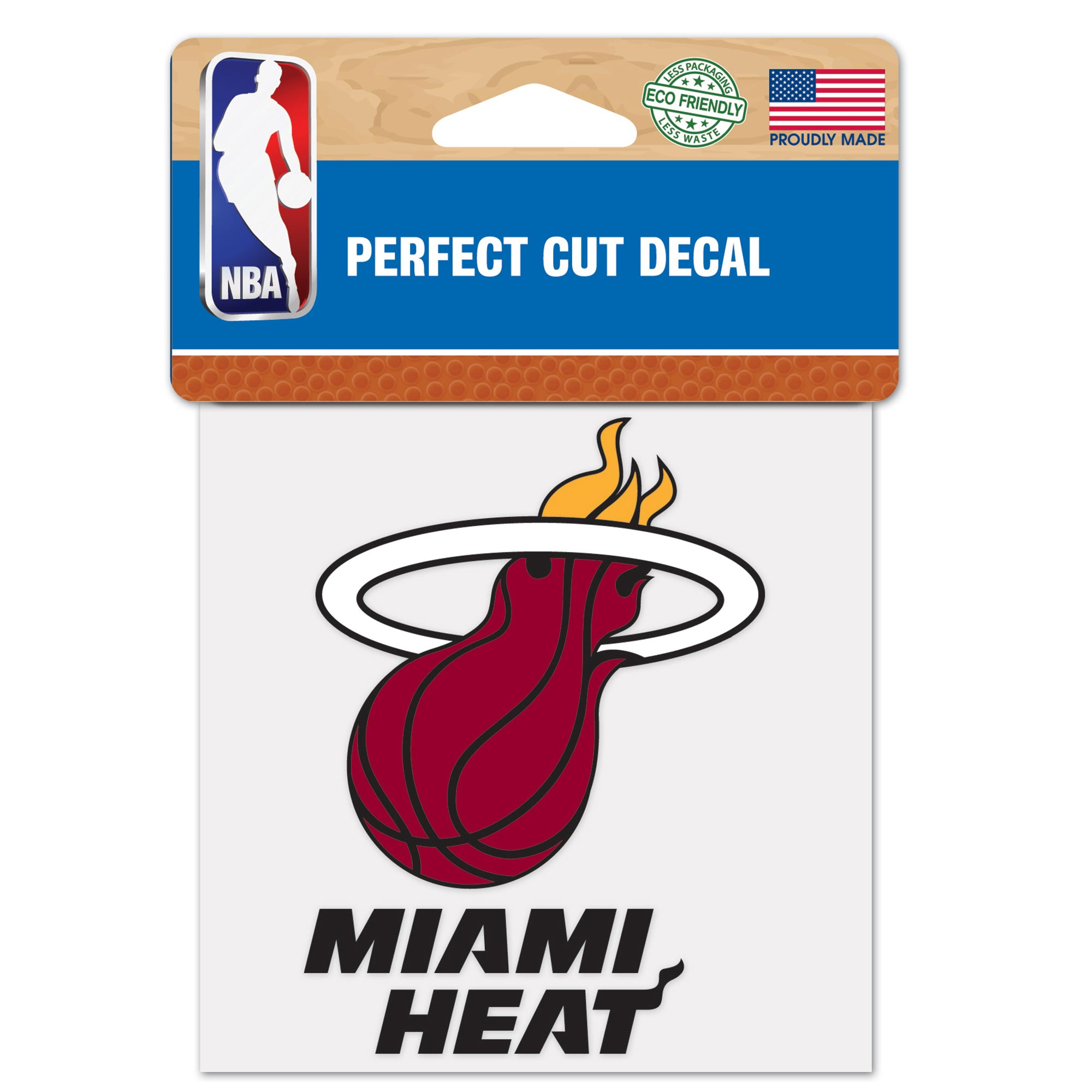 Miami Heat 4x4 Perfect Cut Decal