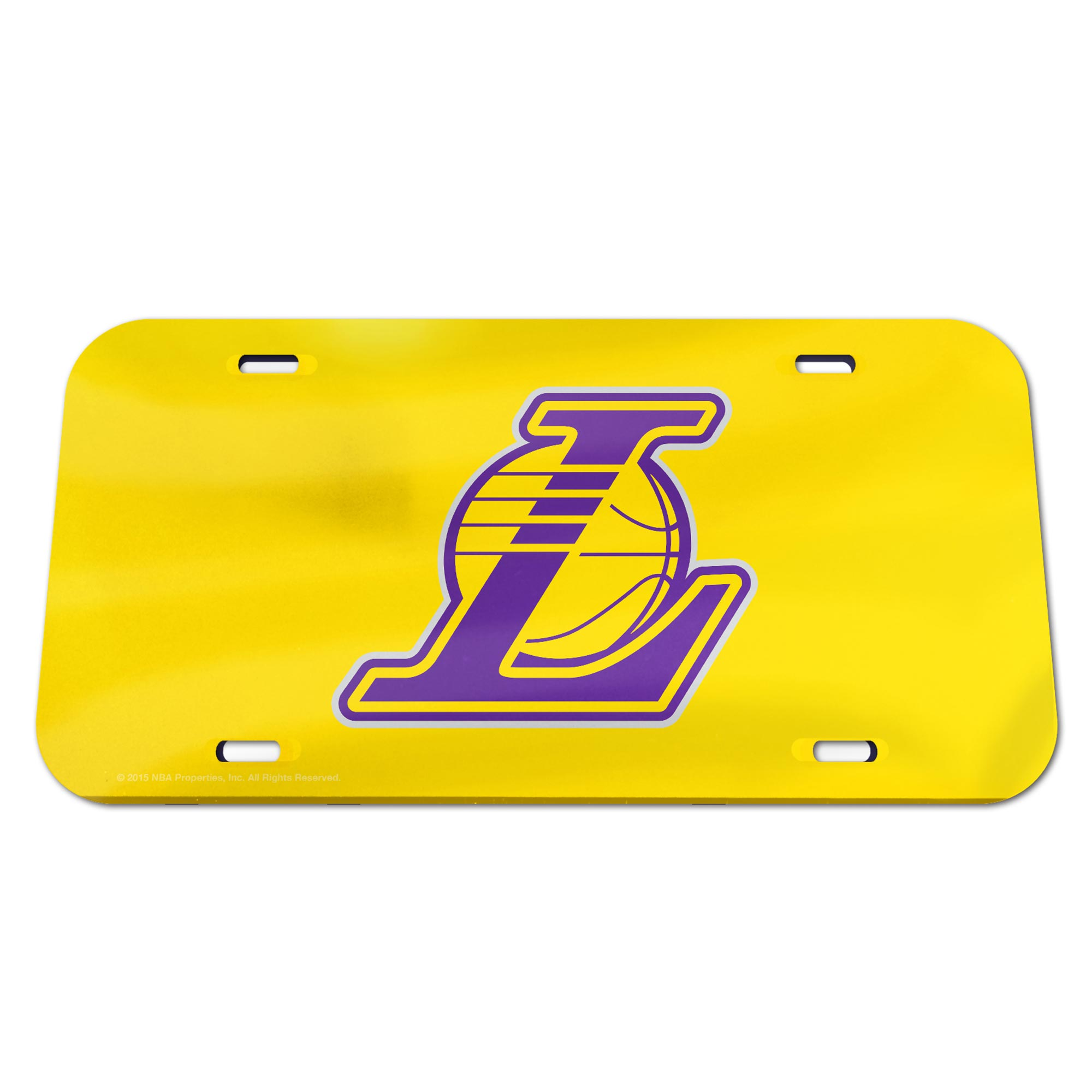 Los Angeles Lakers Mirror Wall License Plate