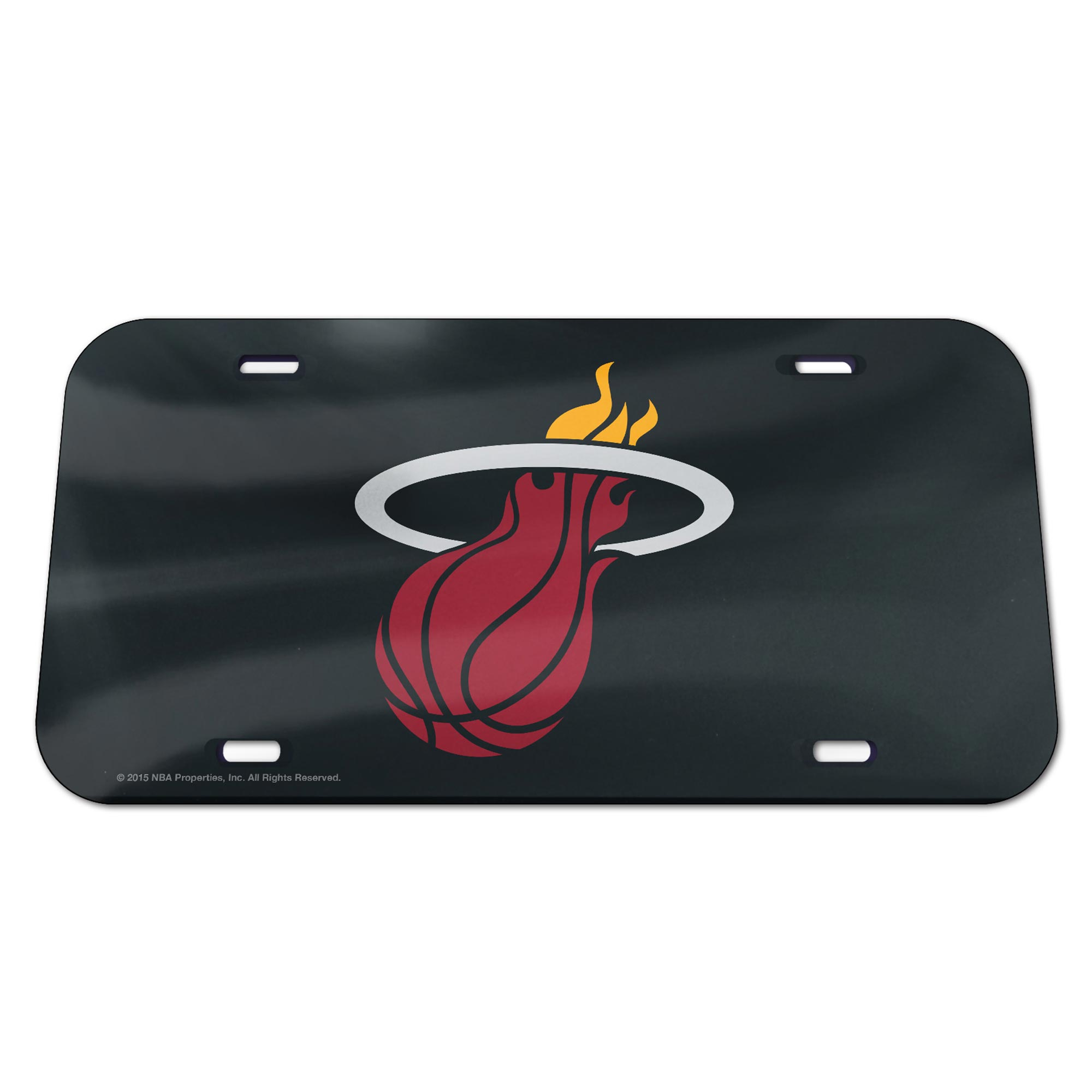 Miami Heat Mirror Wall License Plate