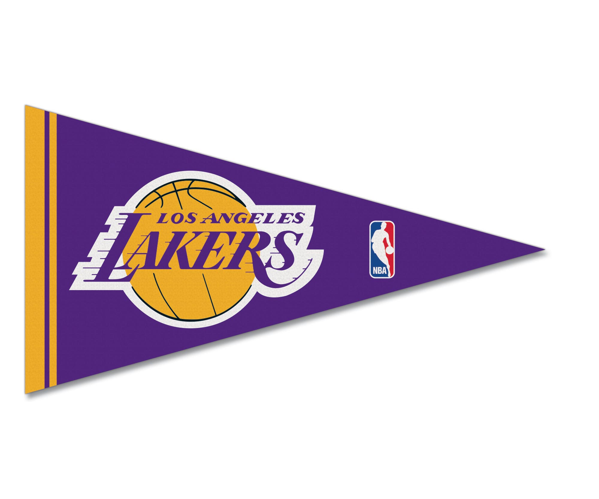 Los Angeles Lakers Felt Pennant Magnet
