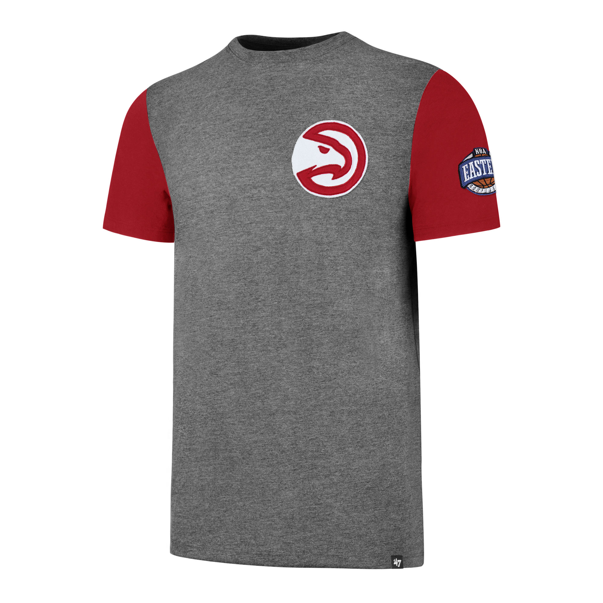 """Image of """"Atlanta Hawks 47 Double Rundown T-Shirt - Mens"""""""