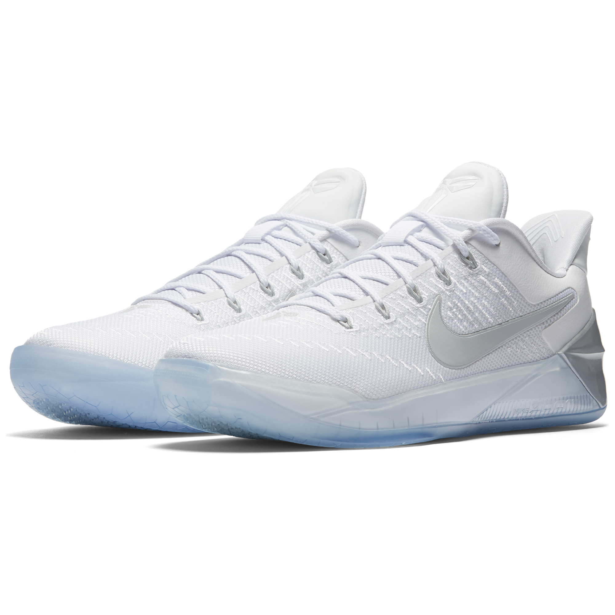 Nike Kobe AD Basketball Shoe - White / Chrome