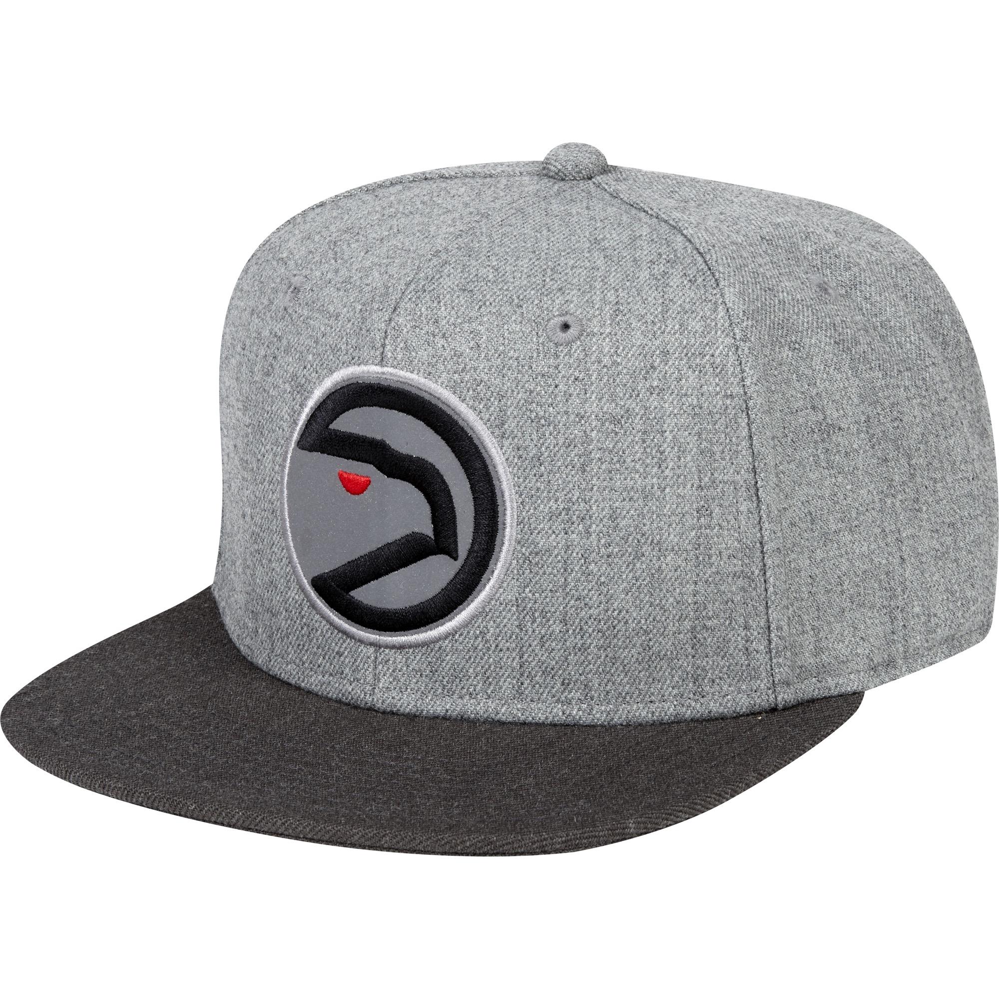"Image of ""Atlanta Hawks Hardwood Classics Embroidered Logo Snapback Cap"""