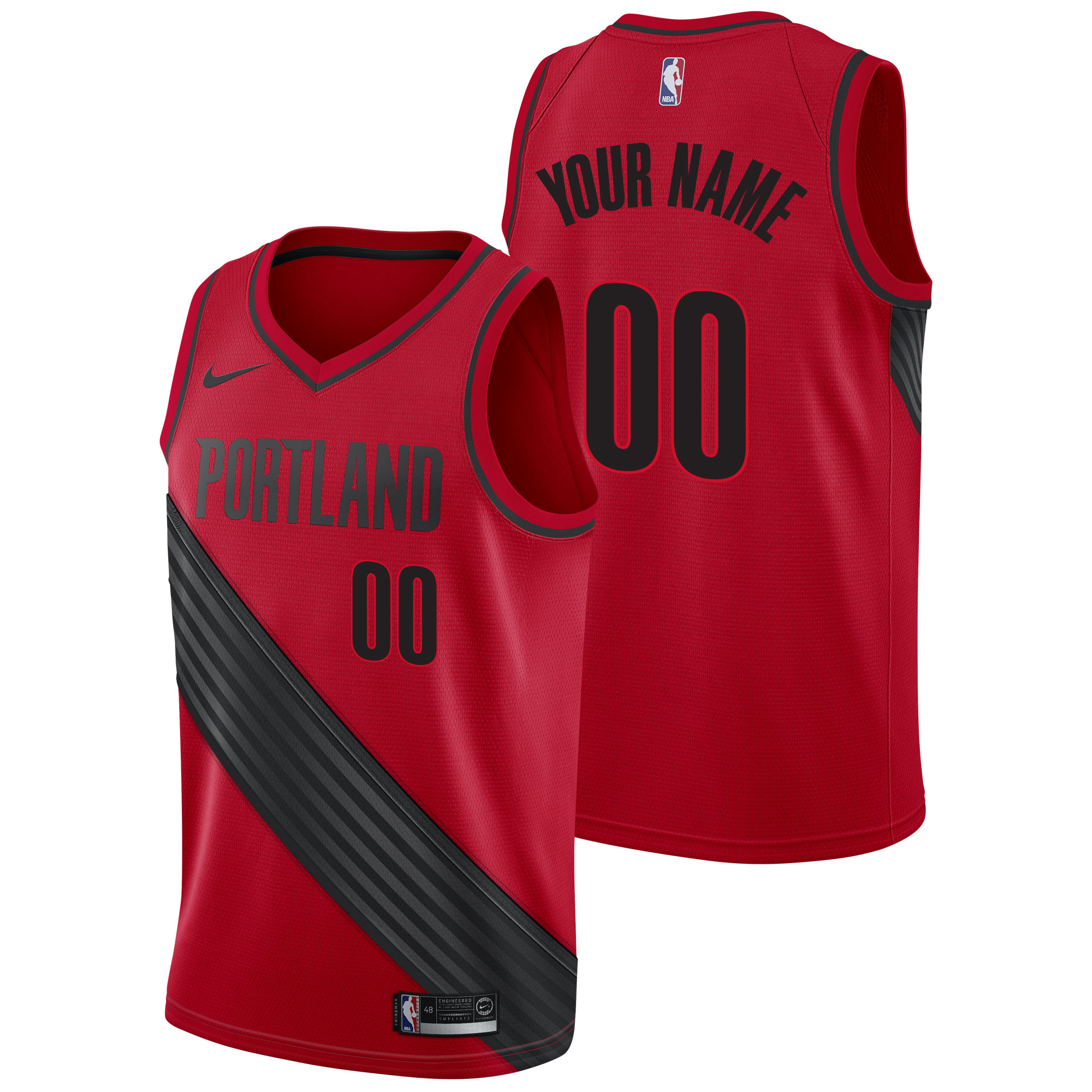 Portland Trail Blazers Nike Statement Swingman Camiseta de la NBA - Player - Hombre