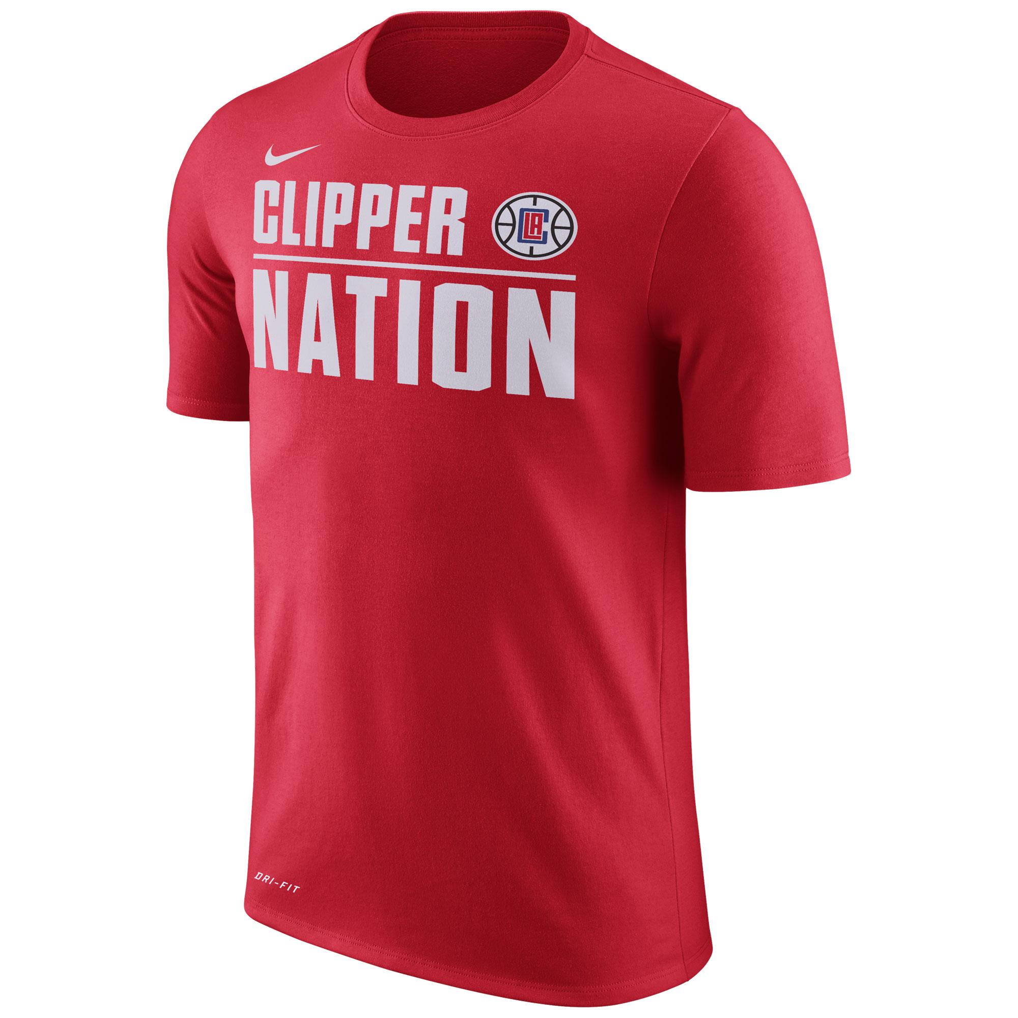 Los Angeles Clippers Nike Verbiage  Camiseta de la NBA - University Rojo - Hombre