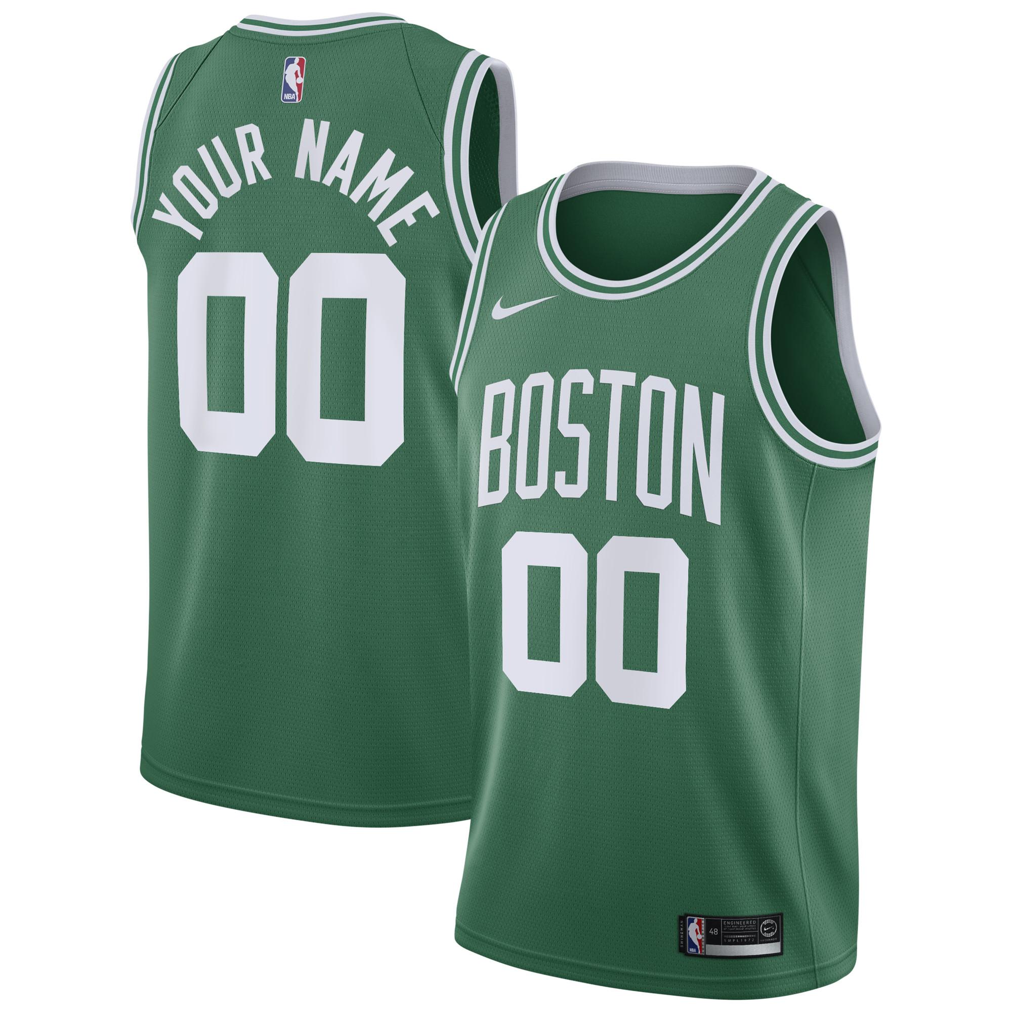 """Boston Celtics Nike Icon Swingman Jersey - Custom - Youth"""