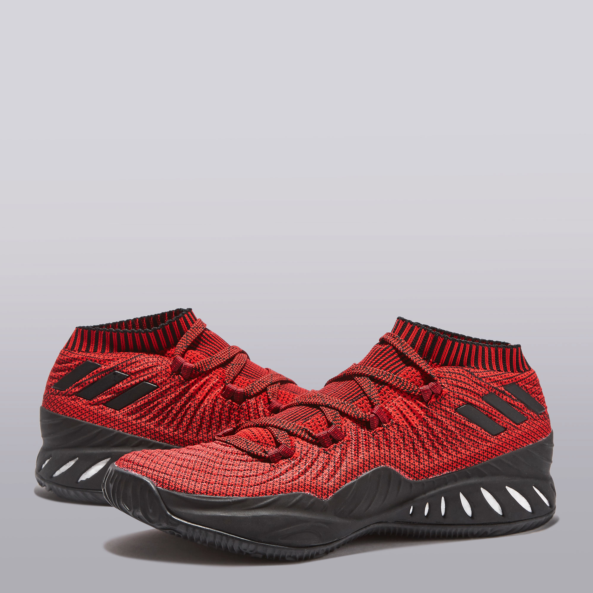 "Image of ""adidas Crazy Explosive Low Primeknit 2017 Basketball Shoe - Core"""
